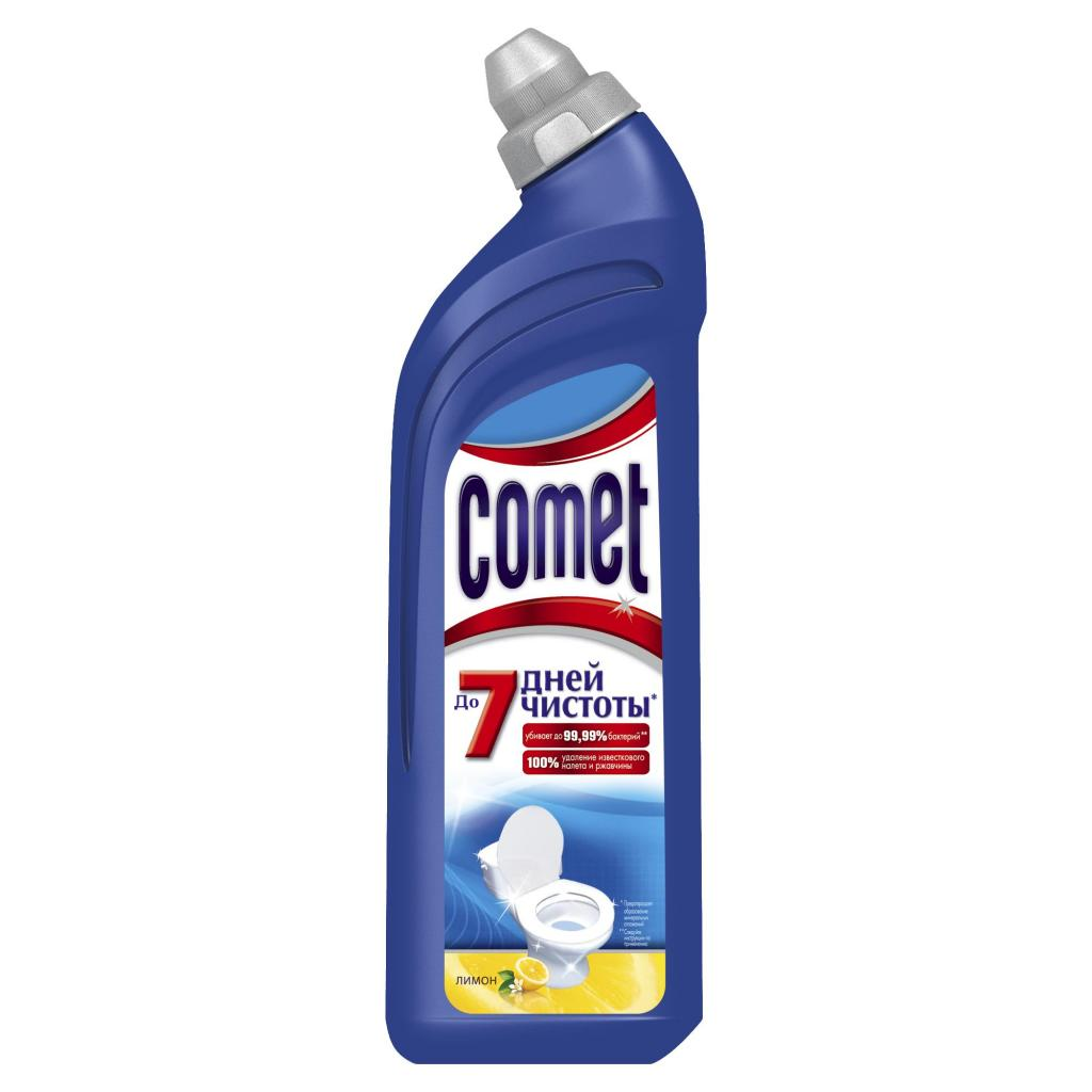 Чистящее средство Comet для туалета Лимон 750 мл (5410076396009)