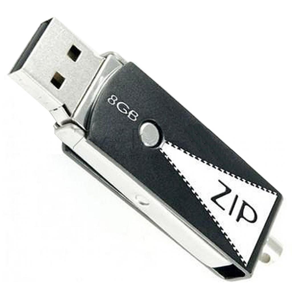 USB флеш накопитель GOODRAM 8GB Zip Black USB 2.0 (PD8GH2GRZIKR9) изображение 2