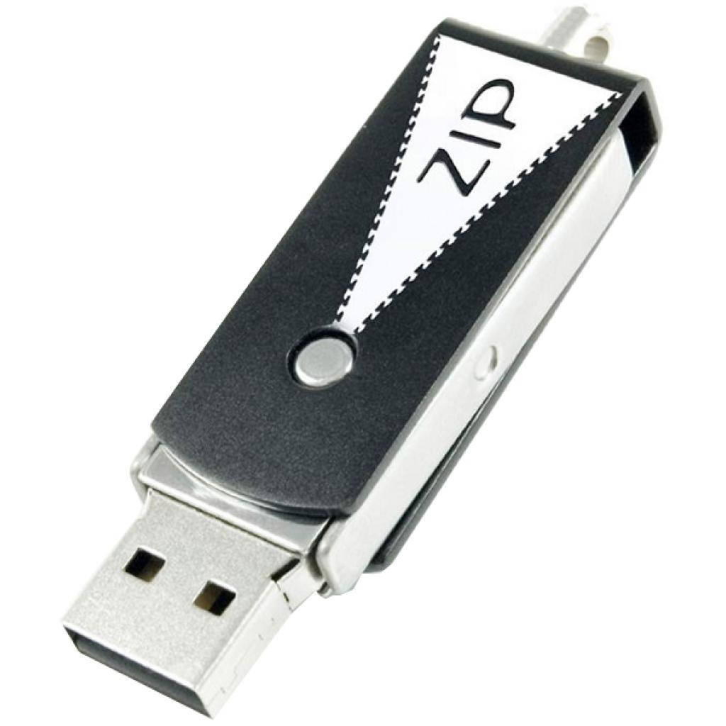 USB флеш накопитель GOODRAM 8GB Zip Black USB 2.0 (PD8GH2GRZIKR9) изображение 3