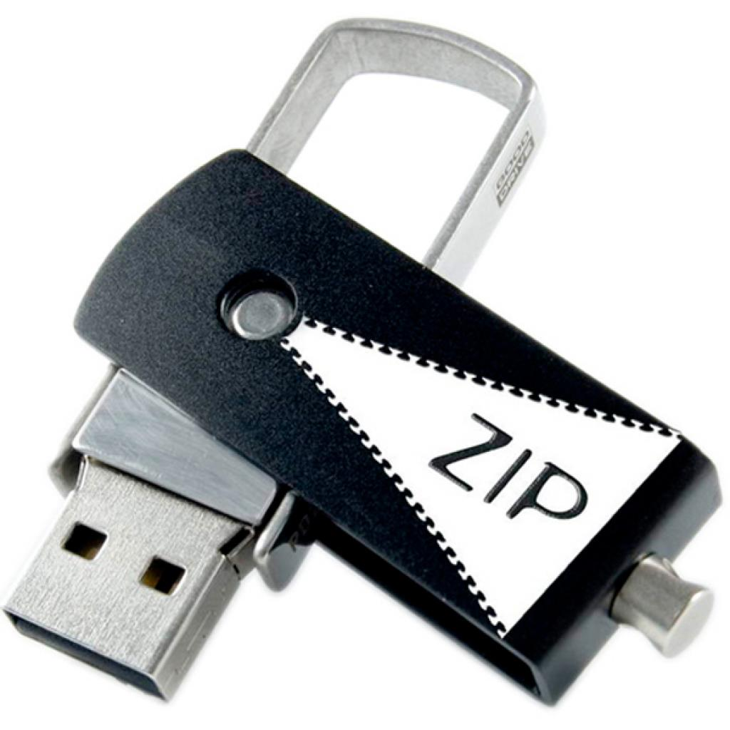 USB флеш накопитель GOODRAM 8GB Zip Black USB 2.0 (PD8GH2GRZIKR9) изображение 5