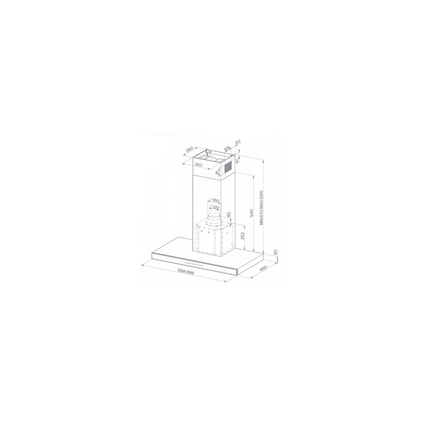 Вытяжка кухонная FABER STILUX EG8 X/V A90 изображение 2