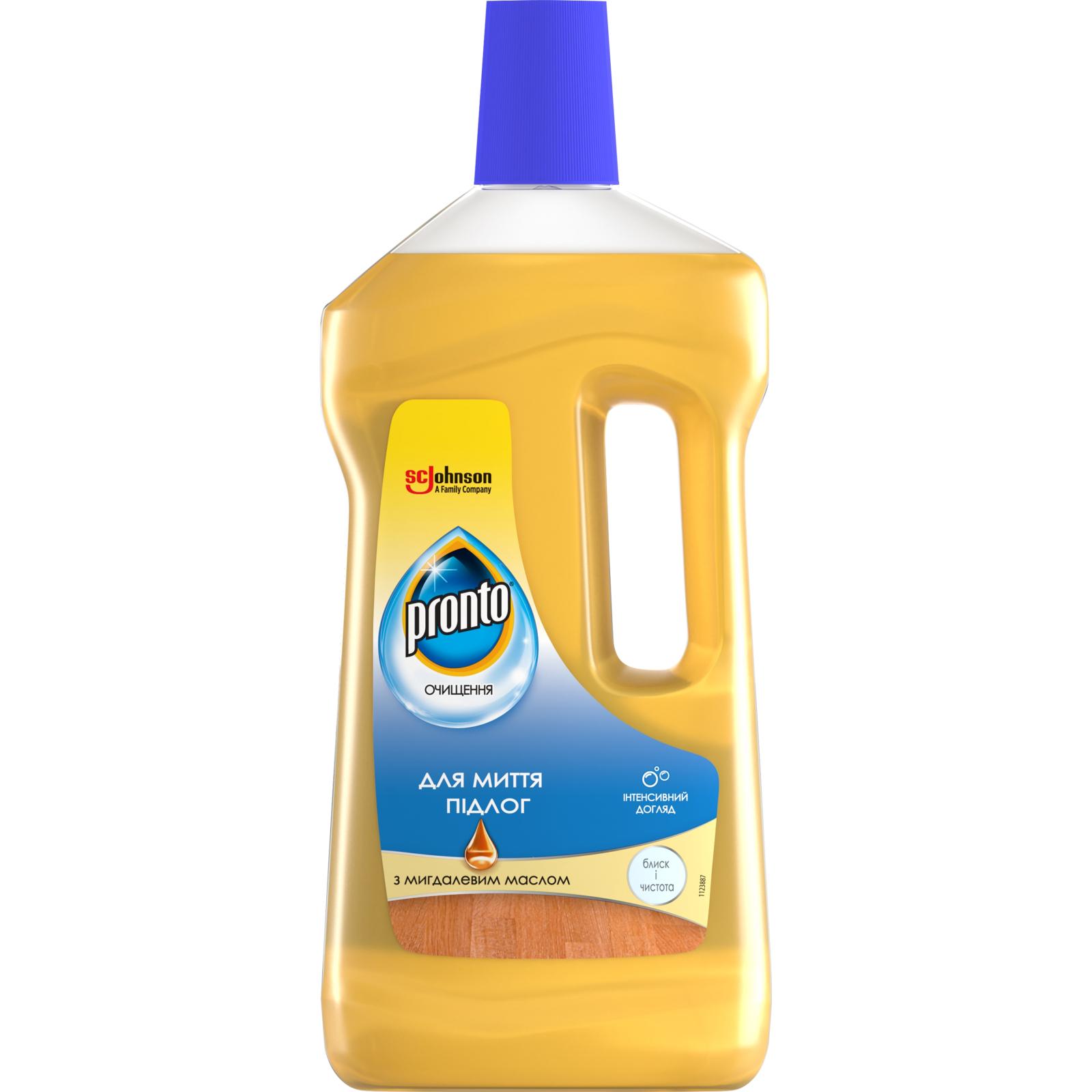 Моющая жидкость для уборки Pronto с миндальным маслом 750 мл (4823002005295)