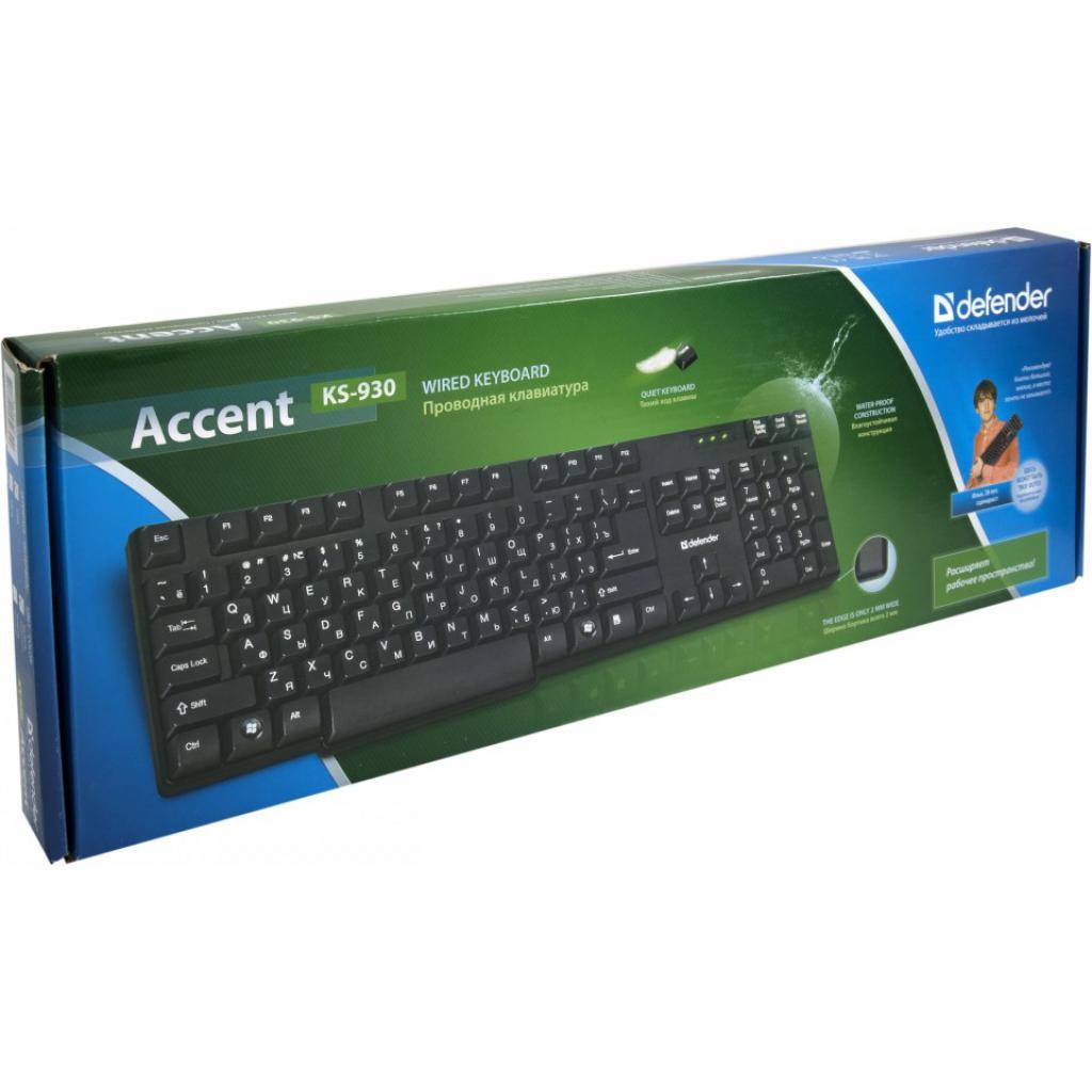 Клавиатура Defender Accent 930 (45030) изображение 3