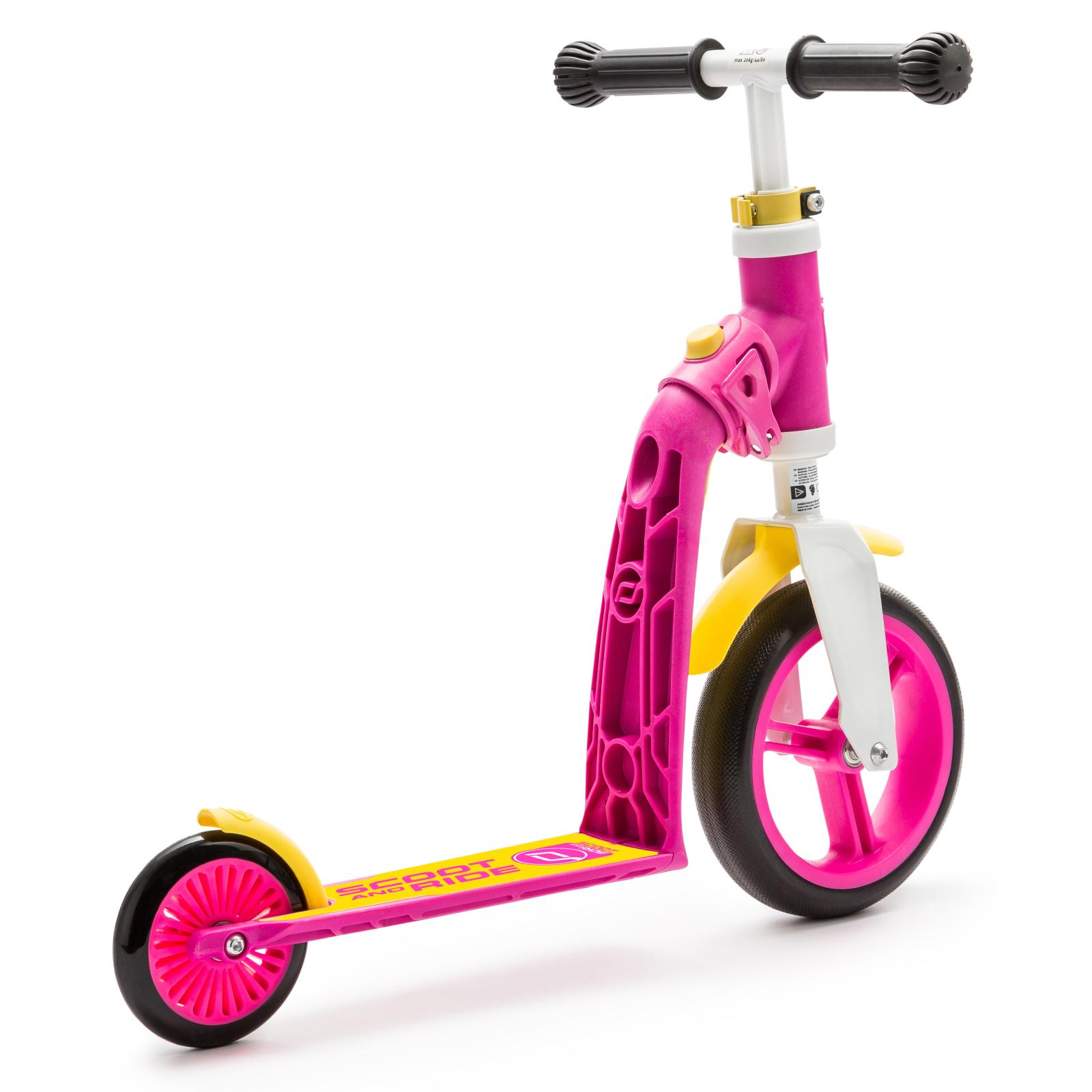 Скутер Scoot&Ride Highwaybaby розово-желтый (SR-216271-PINK-YELLOW) изображение 3