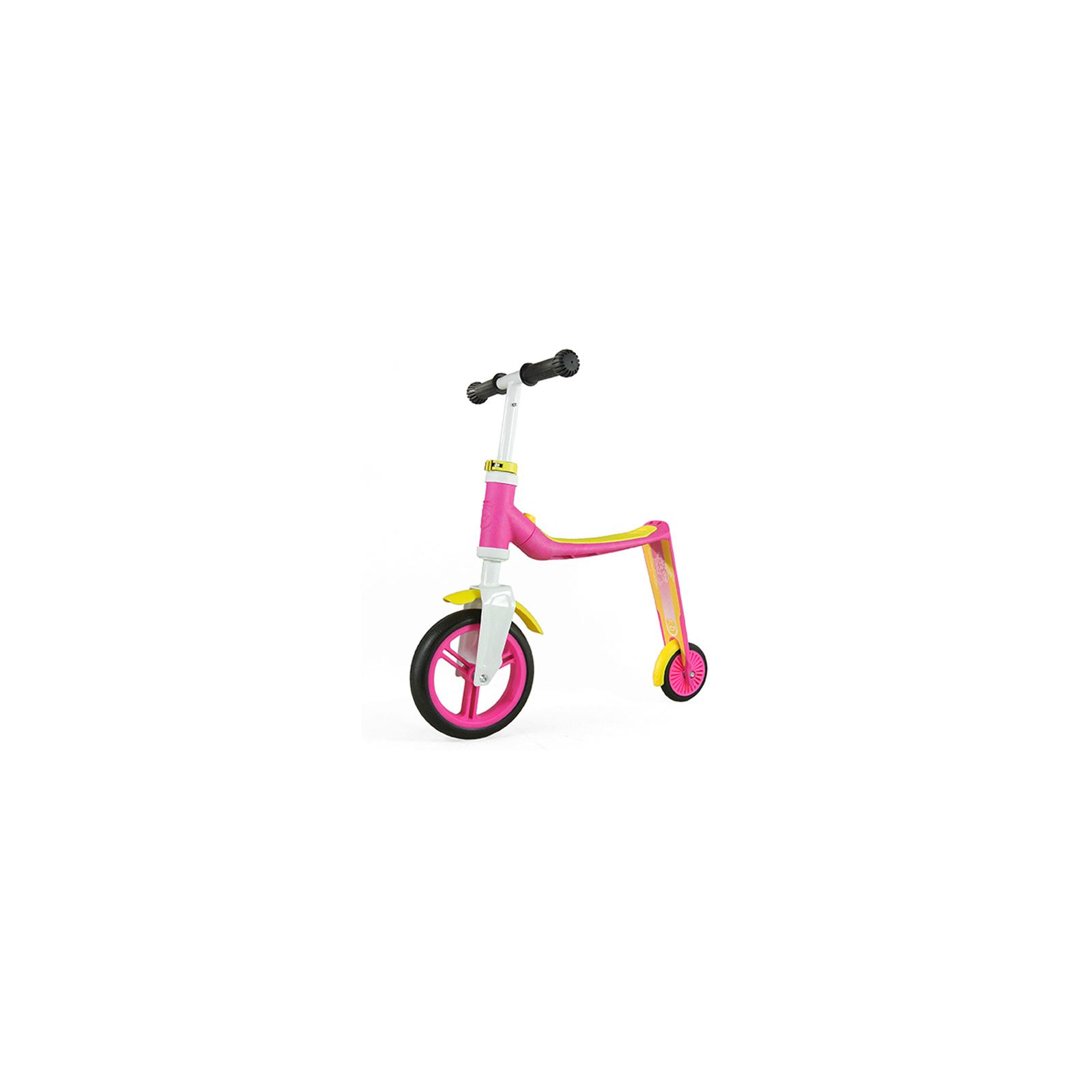 Скутер Scoot&Ride Highwaybaby розово-желтый (SR-216271-PINK-YELLOW) изображение 4