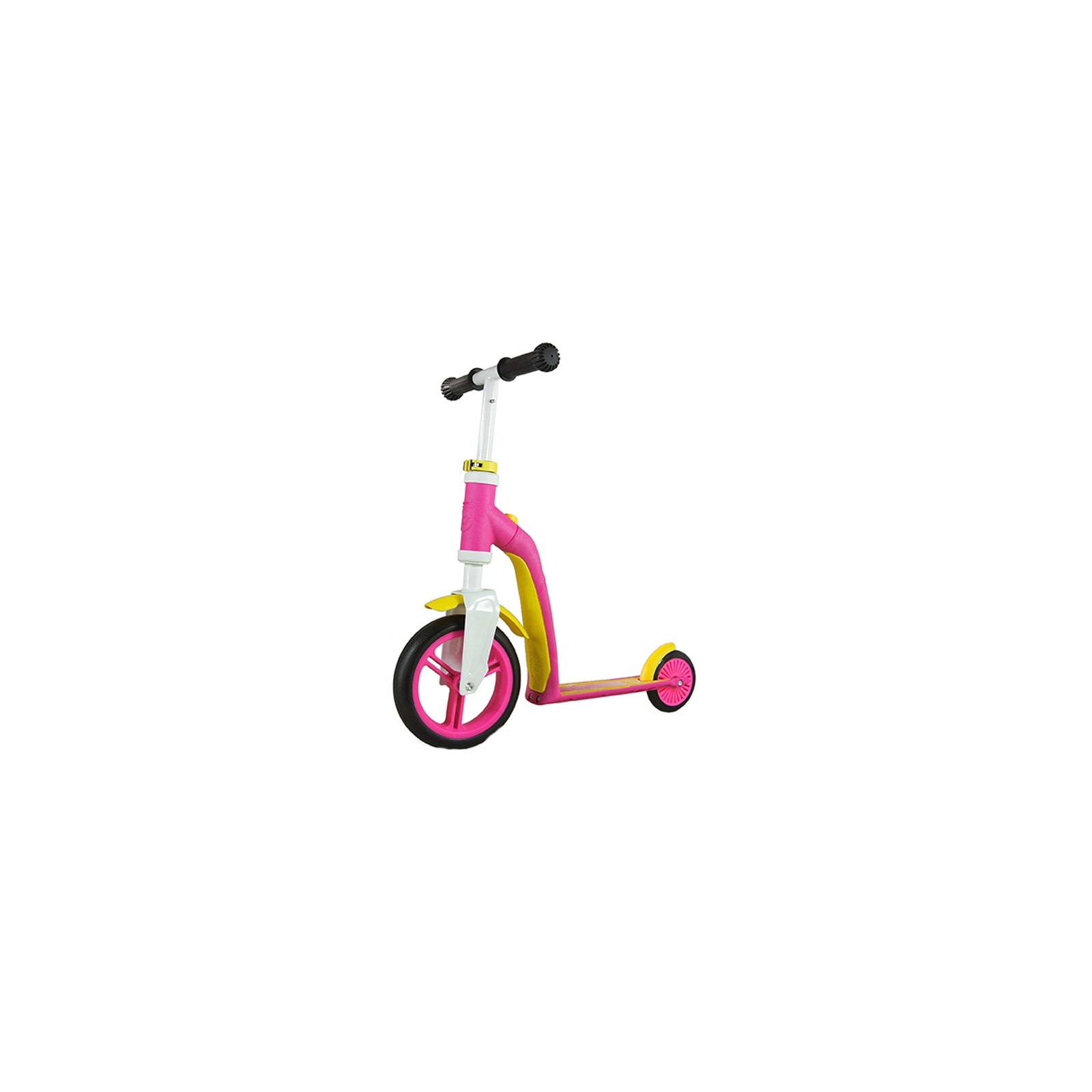 Скутер Scoot&Ride Highwaybaby розово-желтый (SR-216271-PINK-YELLOW) изображение 5