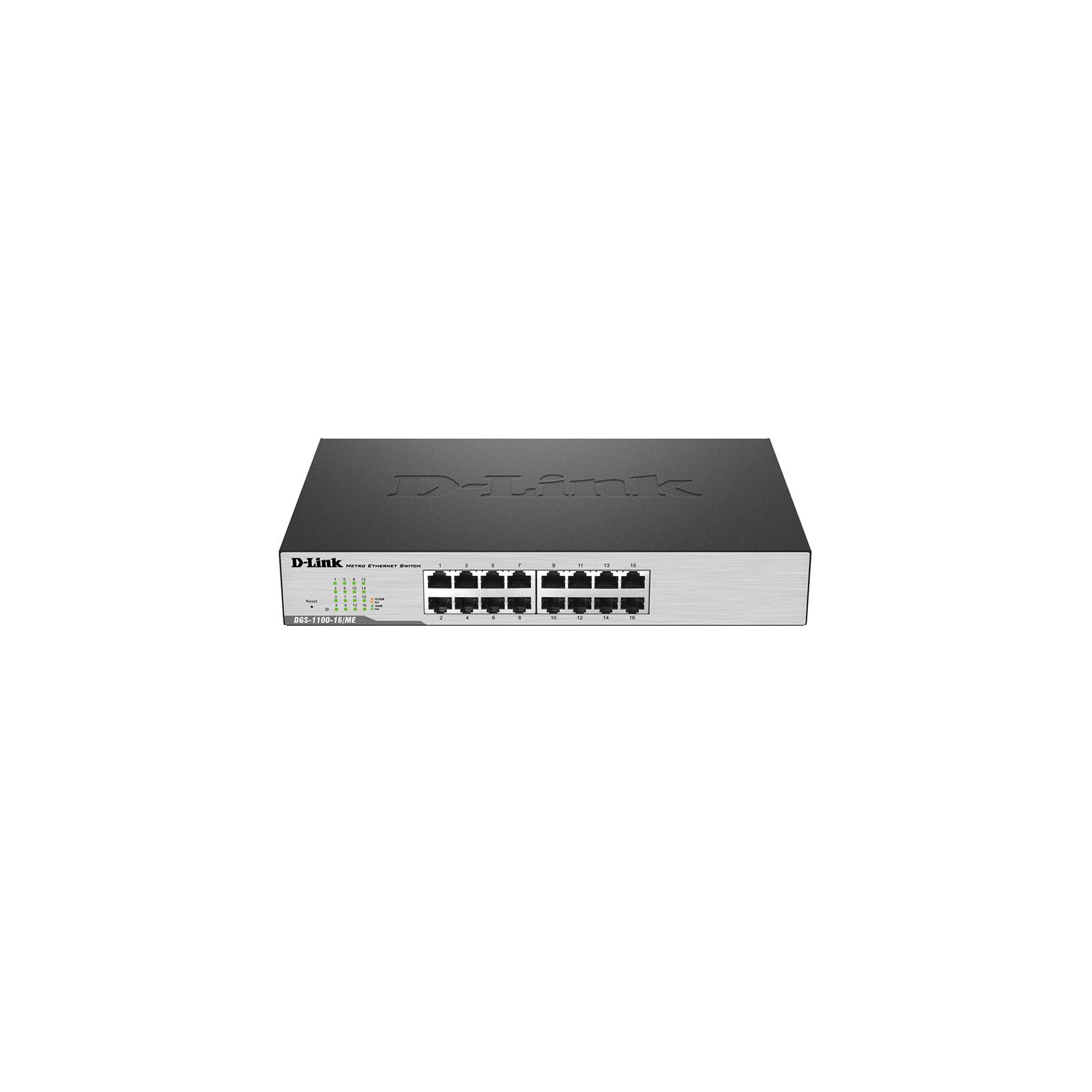 Коммутатор сетевой D-Link DGS-1100-16/ME