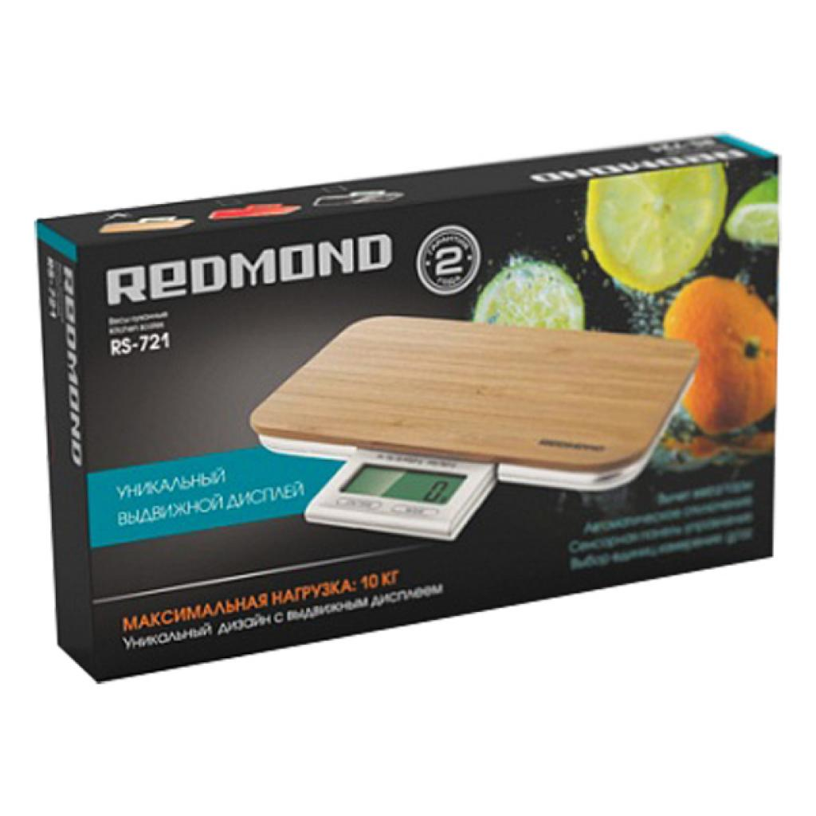 Весы кухонные REDMOND RS-721 (Дерево) изображение 2