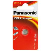 Батарейка PANASONIC SR1130 * 1 Silver Oxide (SR-1130EL/1B)