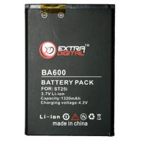 Аккумуляторная батарея EXTRADIGITAL Sony Ericsson BA600 (1320 mAh) (BMS6344)