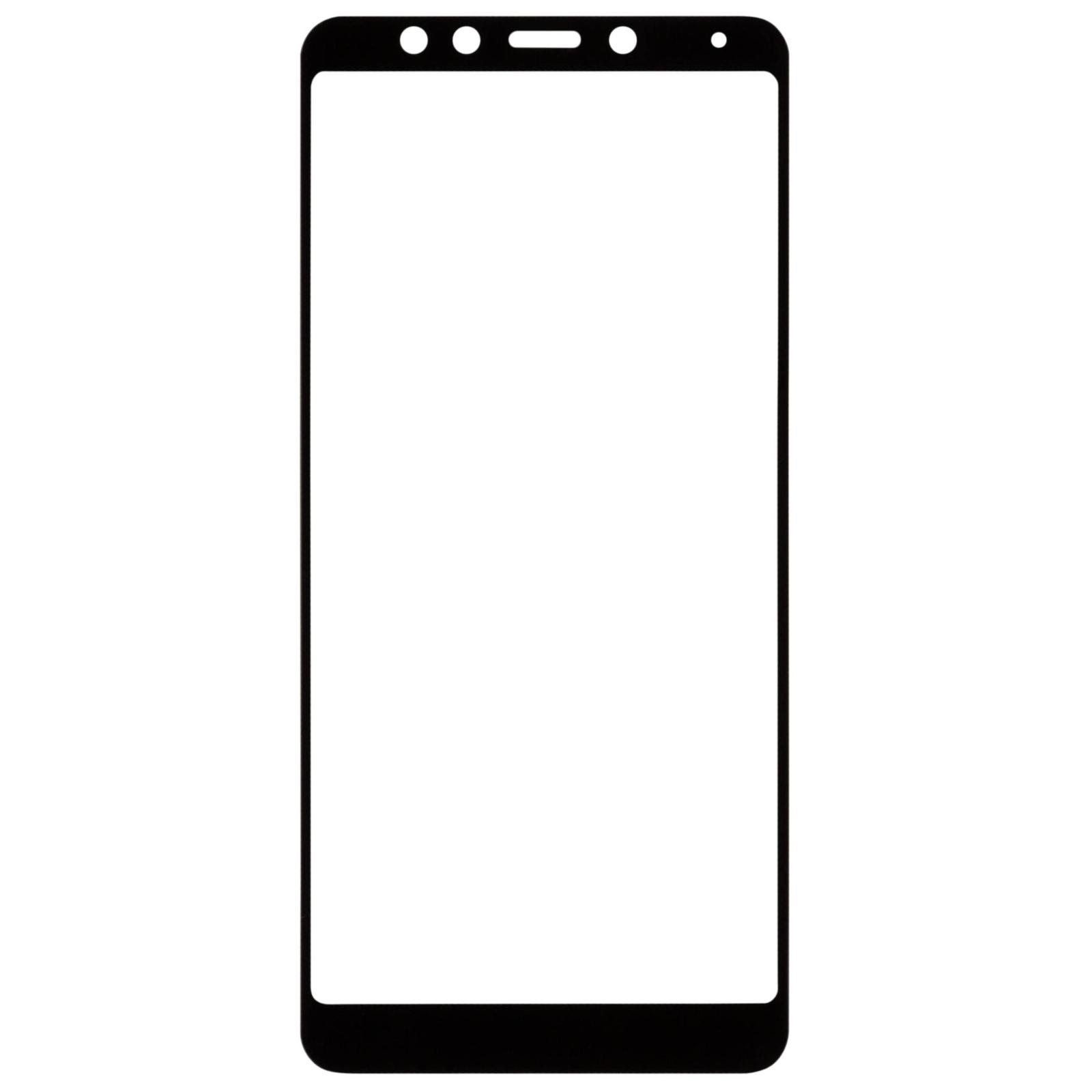 Стекло защитное MakeFuture для Xiaomi Redmi 5 Plus Black Full Cover (MGFC-XR5PB) изображение 3