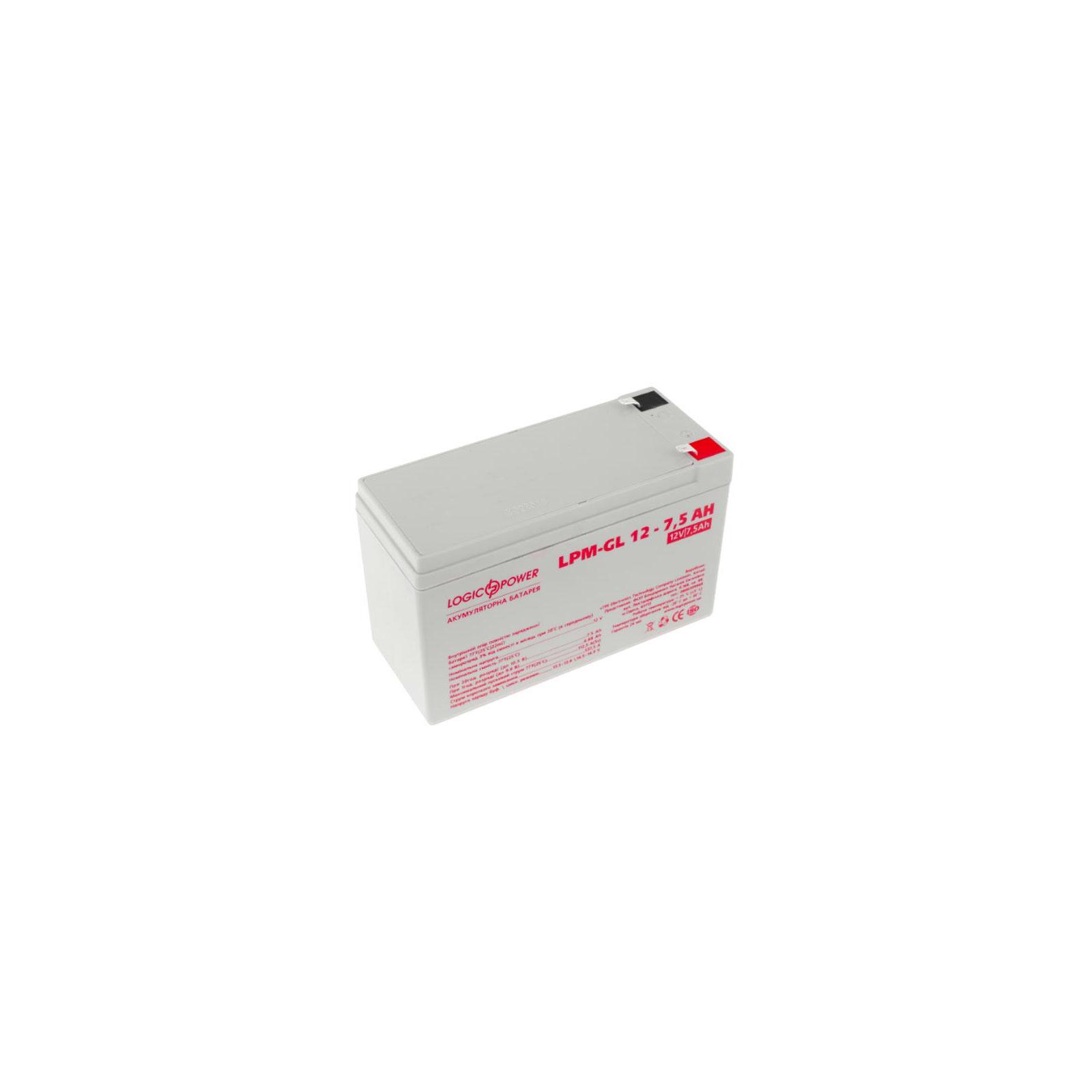 Батарея к ИБП LogicPower LPM-GL 12В 7.5Ач (6562) изображение 2