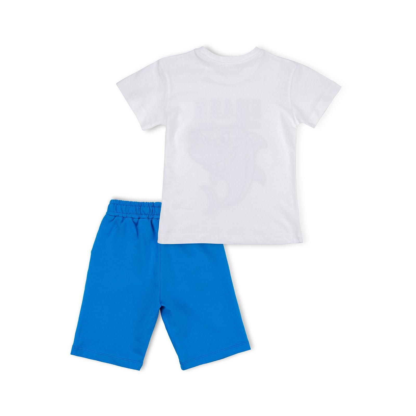 Набор детской одежды Breeze с акулой в очках (10931-98B-beige) изображение 4