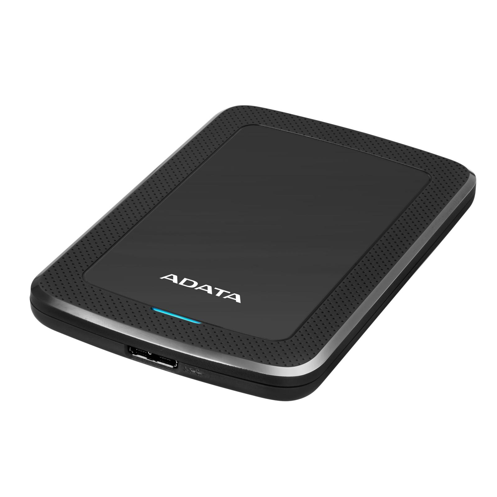 """Внешний жесткий диск 2.5"""" 4TB ADATA (AHV300-4TU31-CBK) изображение 3"""