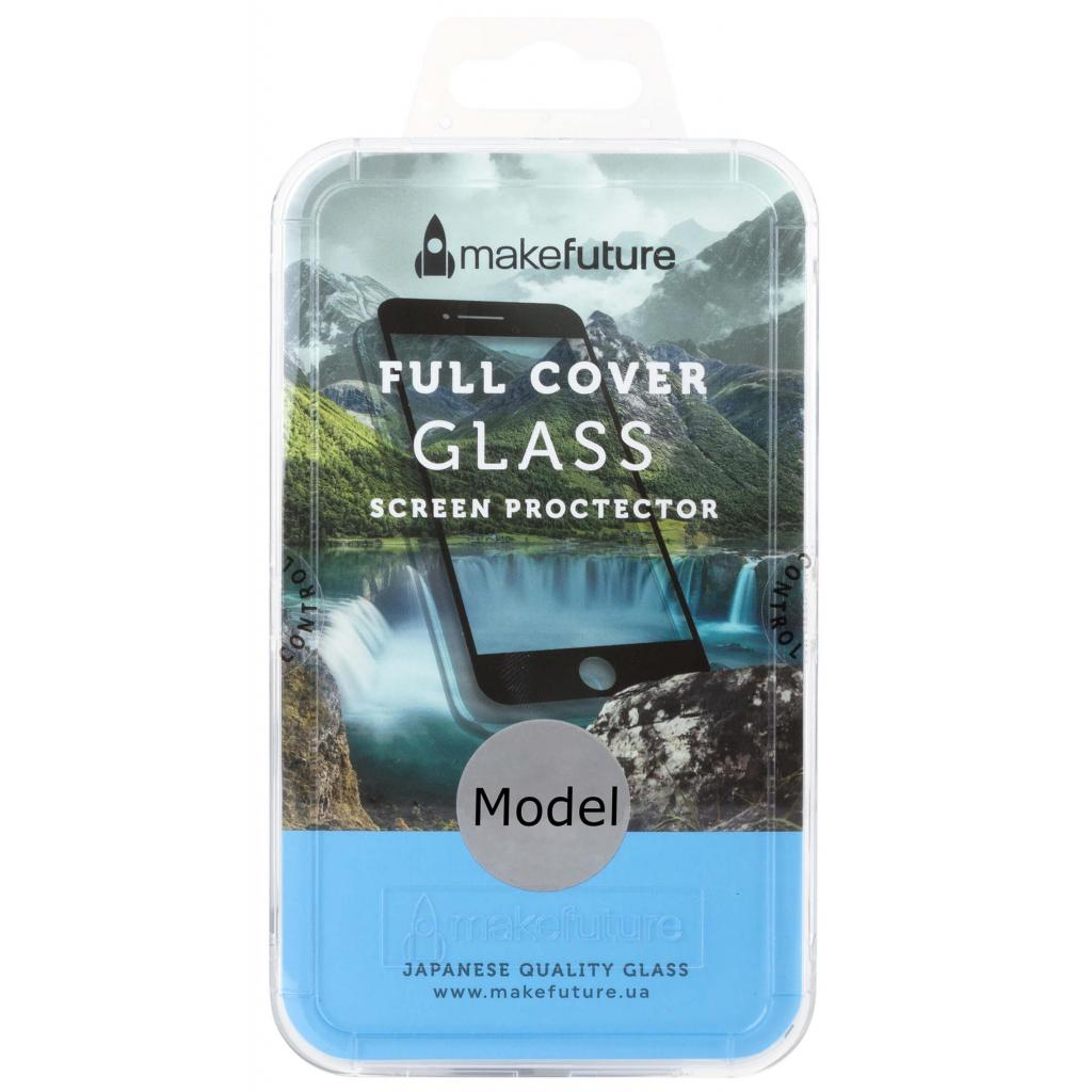 Стекло защитное MakeFuture для Honor 6C Pro Black Full Cover Full Glue (MGFCFG-H6CPB)