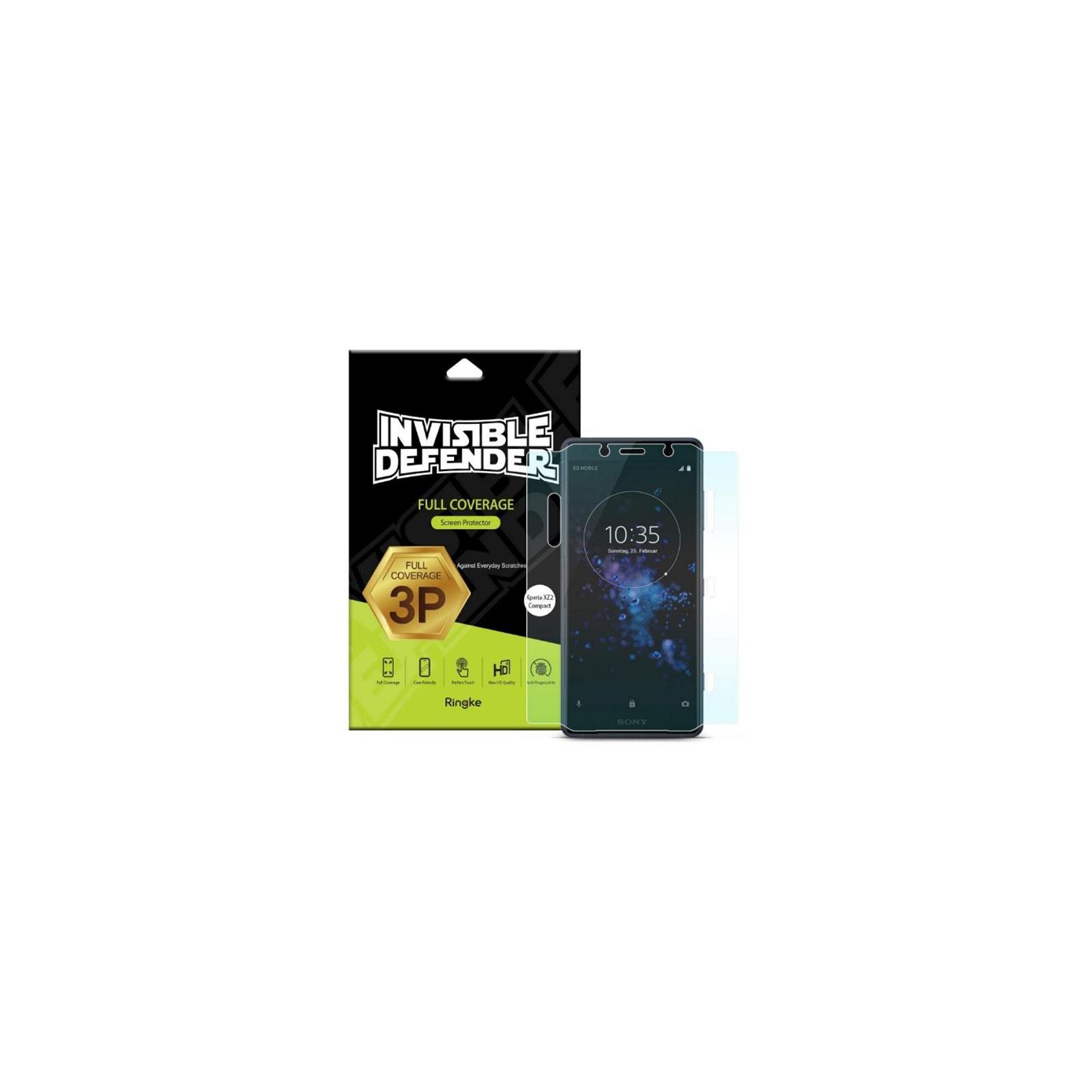 Пленка защитная Ringke для телефона Sony Xperia XZ2 Compact Full Cover (RSP4456)