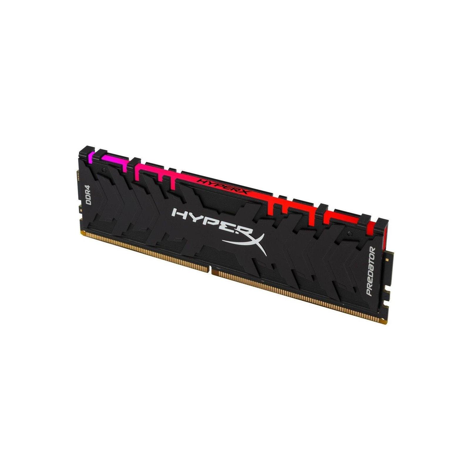 Модуль пам'яті для комп'ютера DDR4 8GB 3000 MHz HyperX Predator RGB Kingston (HX430C15PB3A/8) зображення 2