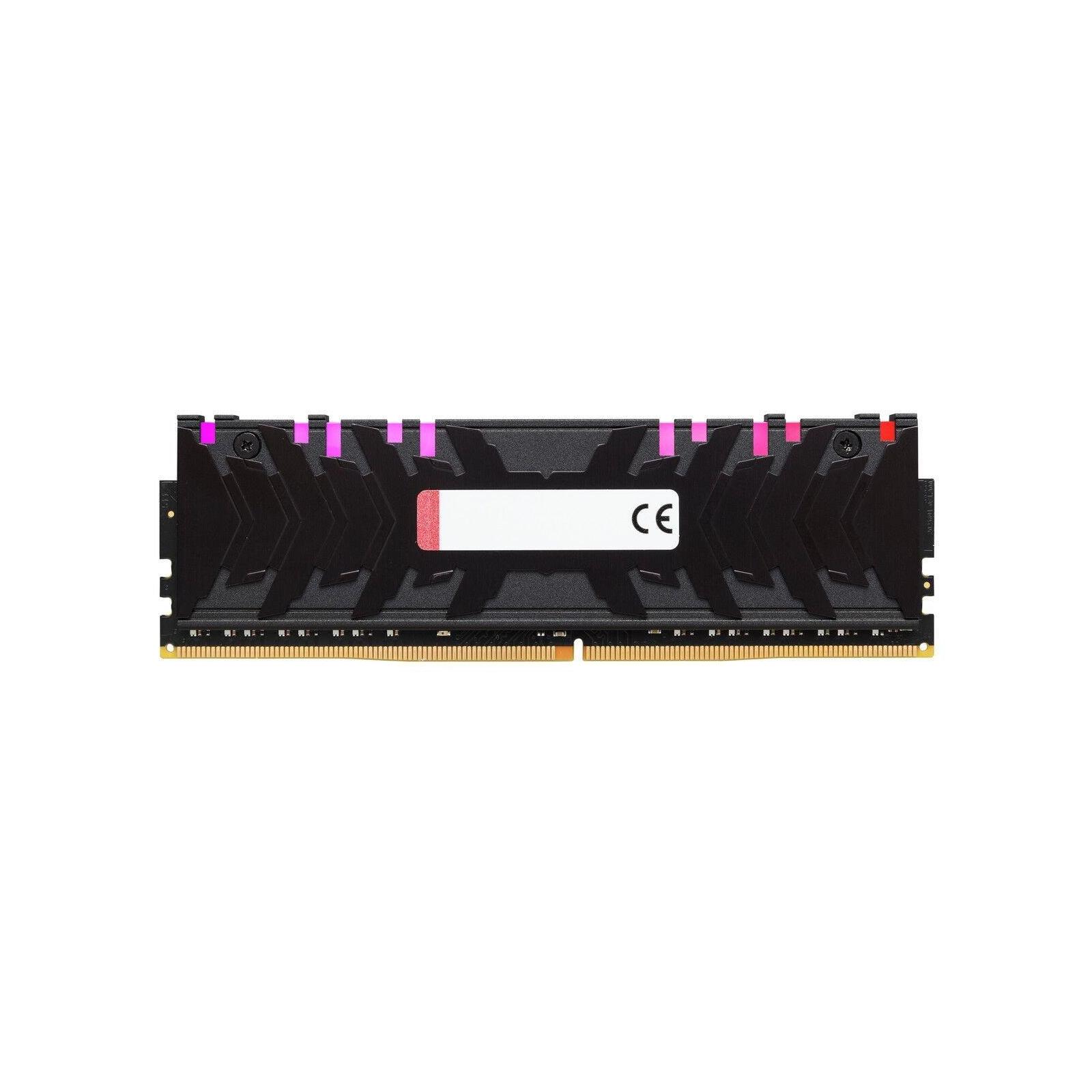 Модуль пам'яті для комп'ютера DDR4 8GB 3000 MHz HyperX Predator RGB Kingston (HX430C15PB3A/8) зображення 3