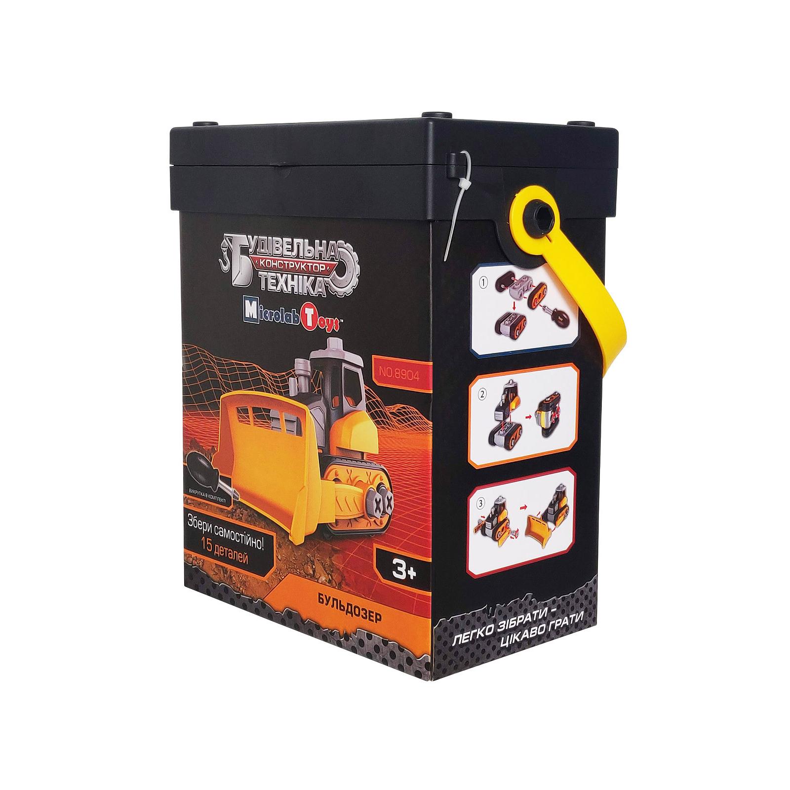 Конструктор Microlab Toys Строительная техника - бульдозеры (MT8904) изображение 3