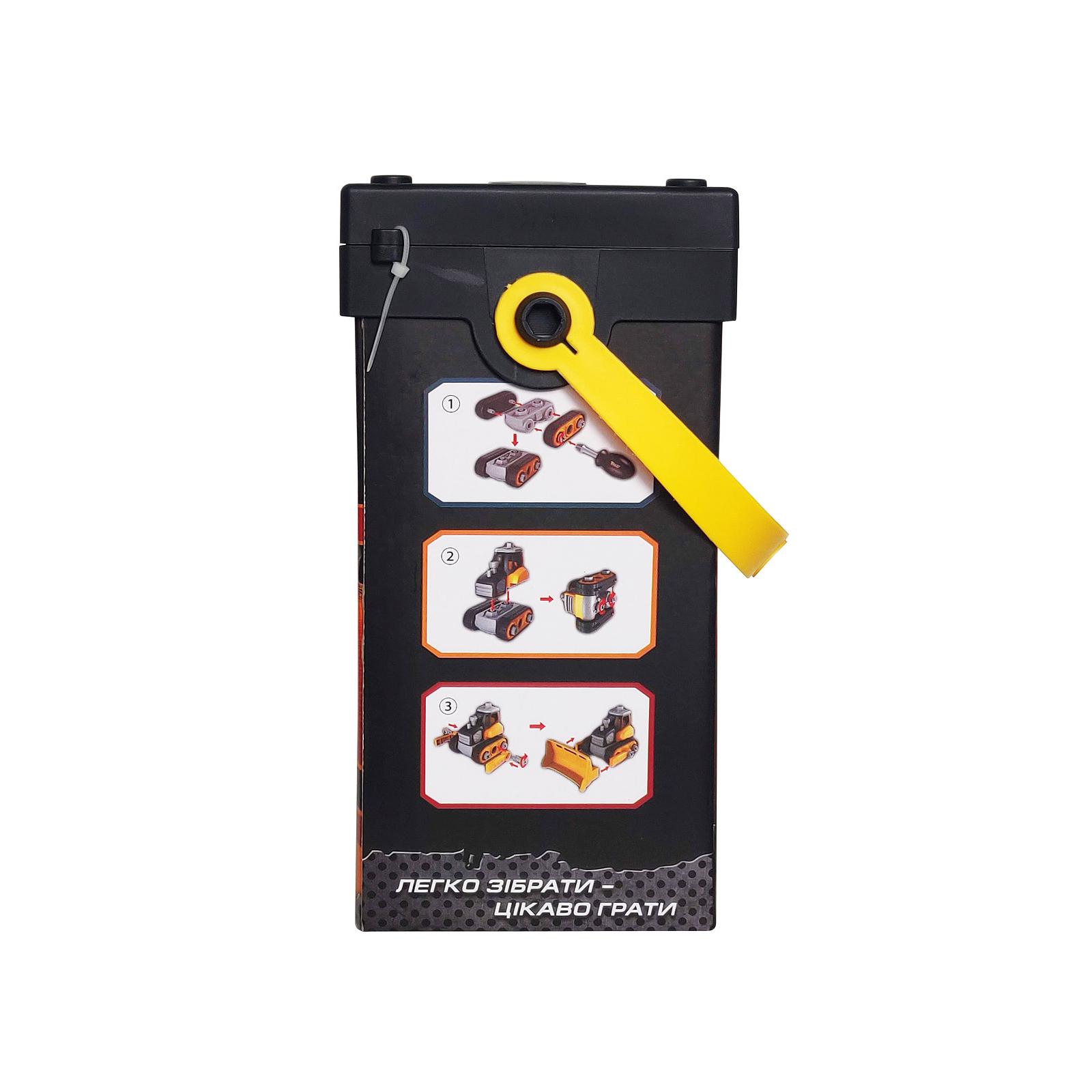 Конструктор Microlab Toys Строительная техника - бульдозеры (MT8904) изображение 4