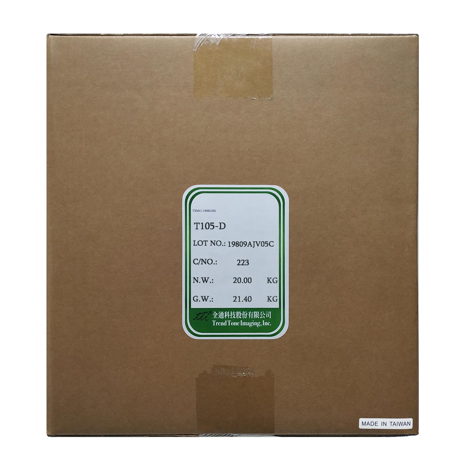 Тонер HP LJ1010/1200/1300/2100/5000 2x10кг TTI (TSM-105-D-20)