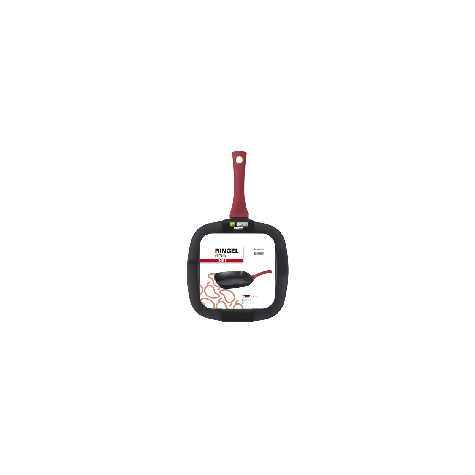 Сковорода Ringel Chili 28 х 28 см (RG-8101-28) изображение 5