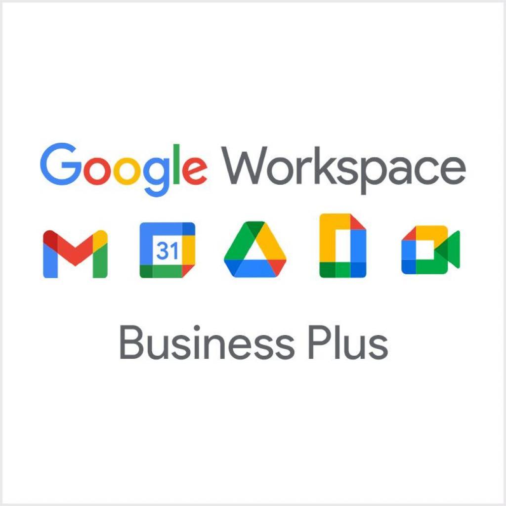 Офісний додаток Google Workspace Business Plus 1 обліковий запис, на 1 рік