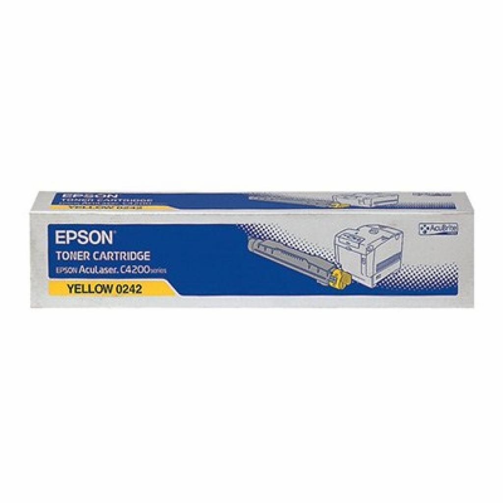 Картридж EPSON AcuLaser C4200DN yellow (C13S050242)