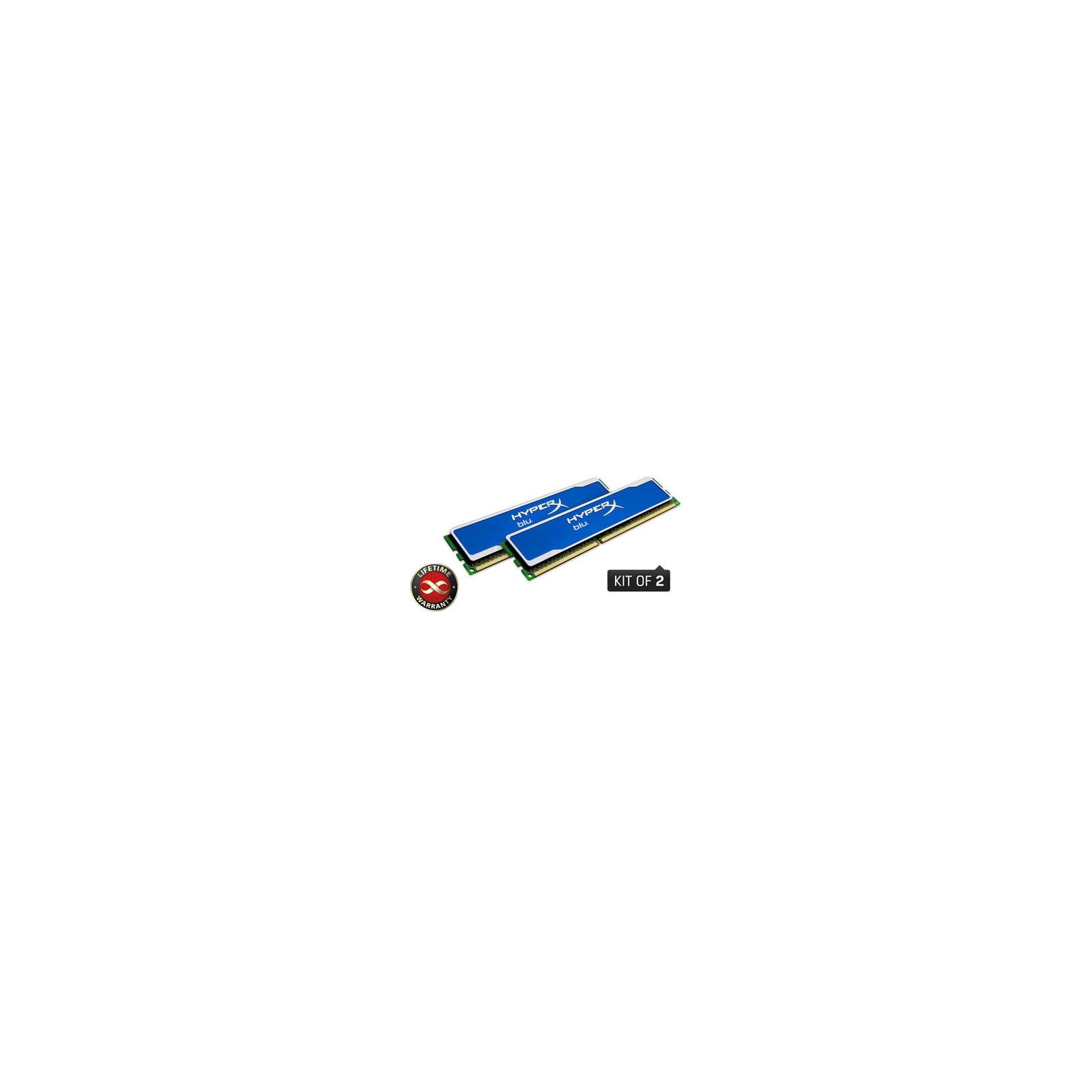 Модуль памяти для компьютера DDR3 8GB (2x4GB) 1600 MHz Kingston (KHX1600C9D3B1K2/8GX)