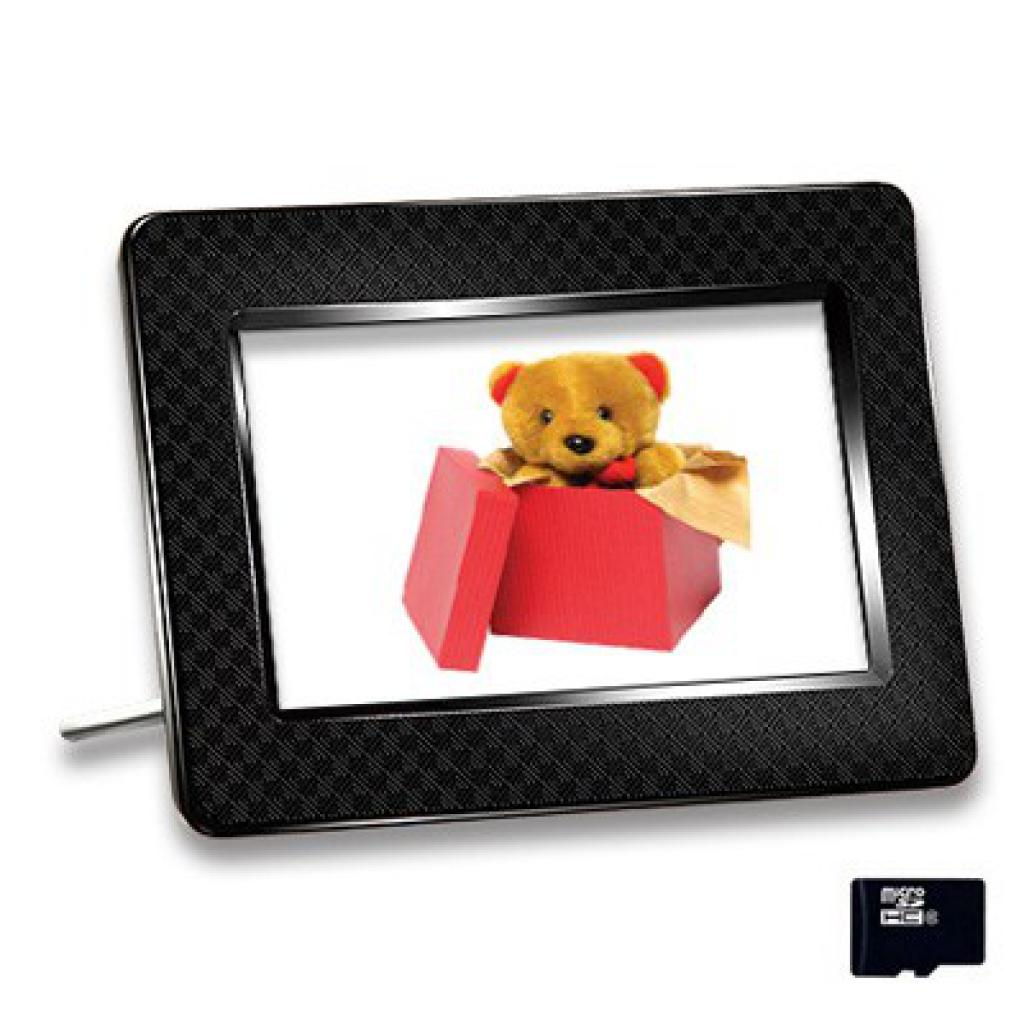Цифровая фоторамка Photo Frame 705 black Transcend (TS-PF705B)