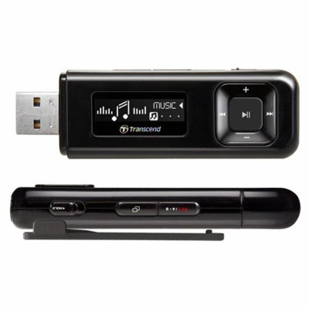 mp3 плеер Transcend T.sonic 330 8GB Black (TS8GMP330K)