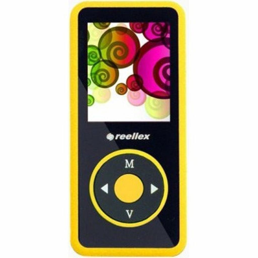 mp3 плеер Reellex UP-48 4GB Black/Yellow (UP-48 Black/Yellow)