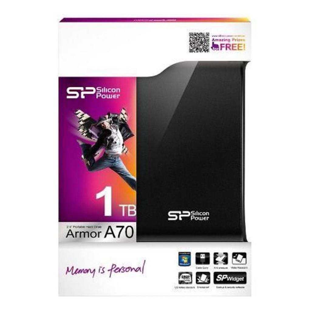 """Внешний жесткий диск 2.5"""" 1TB Silicon Power (SP010TBPHDA70S2K) изображение 4"""