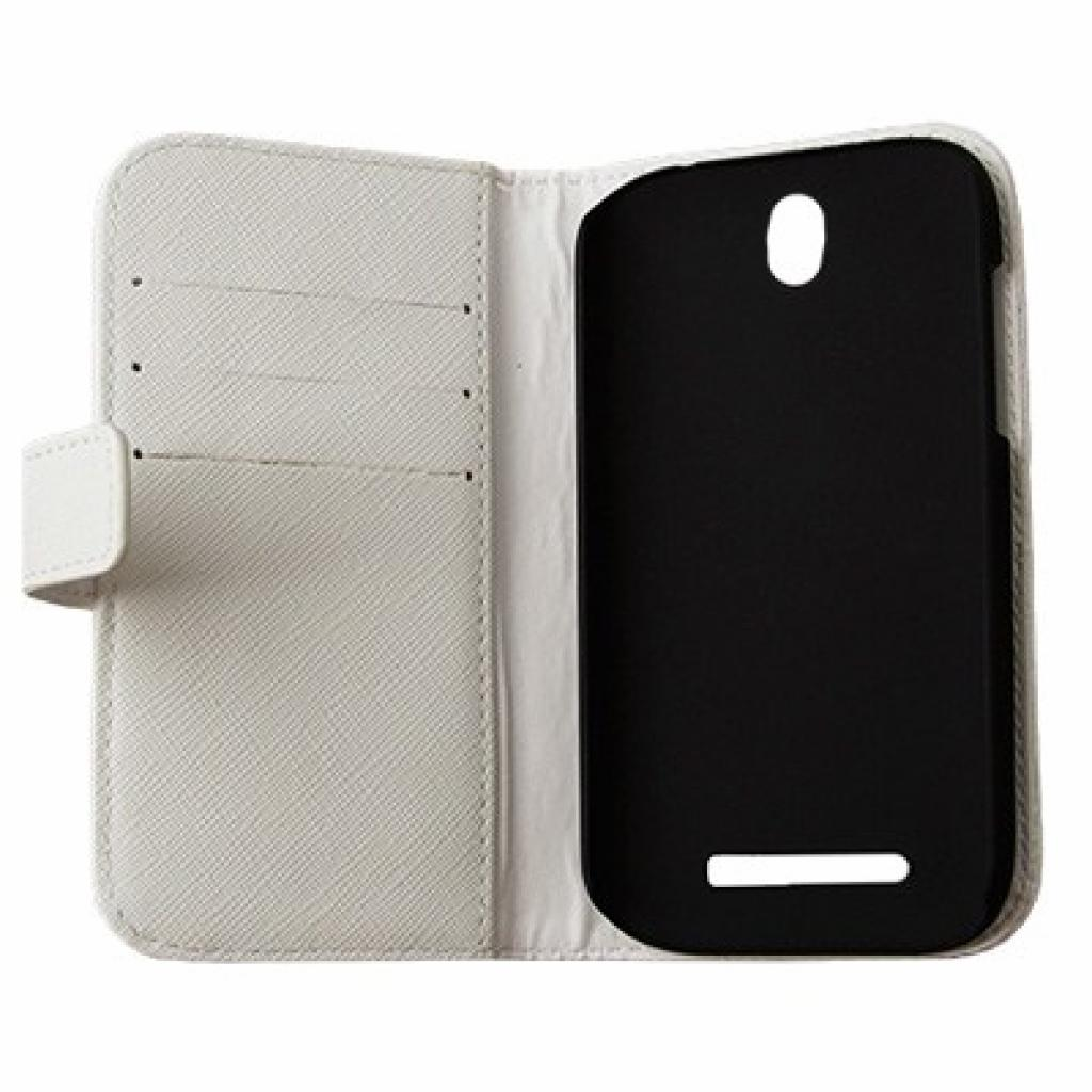 Чехол для моб. телефона Drobak для HTC Desire SV Elegant Wallet White (218842) изображение 2