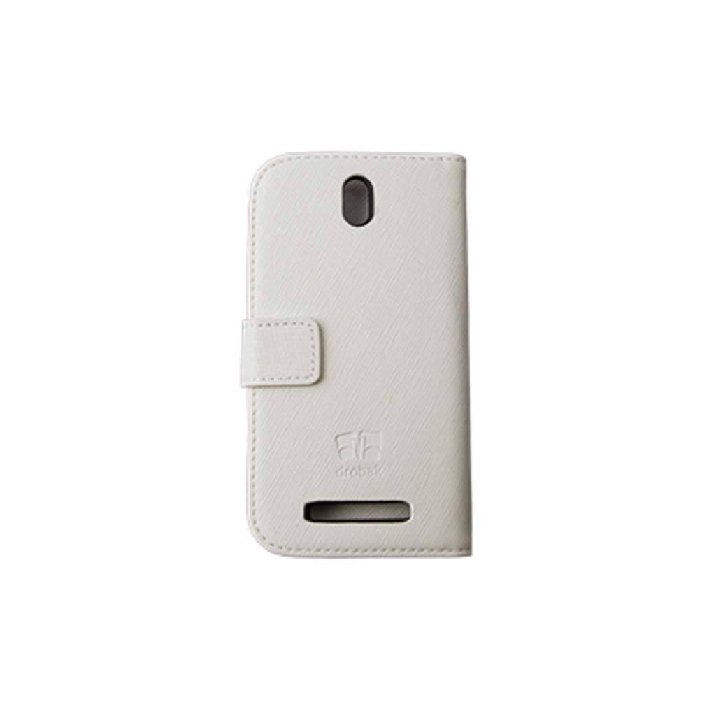 Чехол для моб. телефона Drobak для HTC Desire SV Elegant Wallet White (218842) изображение 3