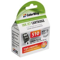Картридж ColorWay CANON PG-510 black (CW-CPG510)