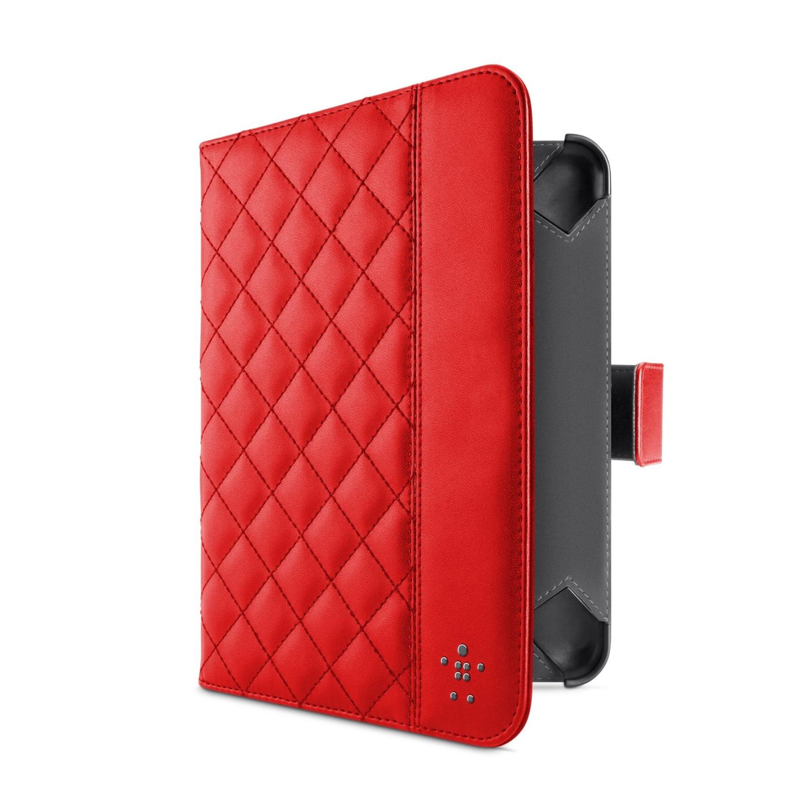 Чехол для планшета Belkin iPad Air Quilted Cover /Ruby (F7N073B2C02) изображение 2