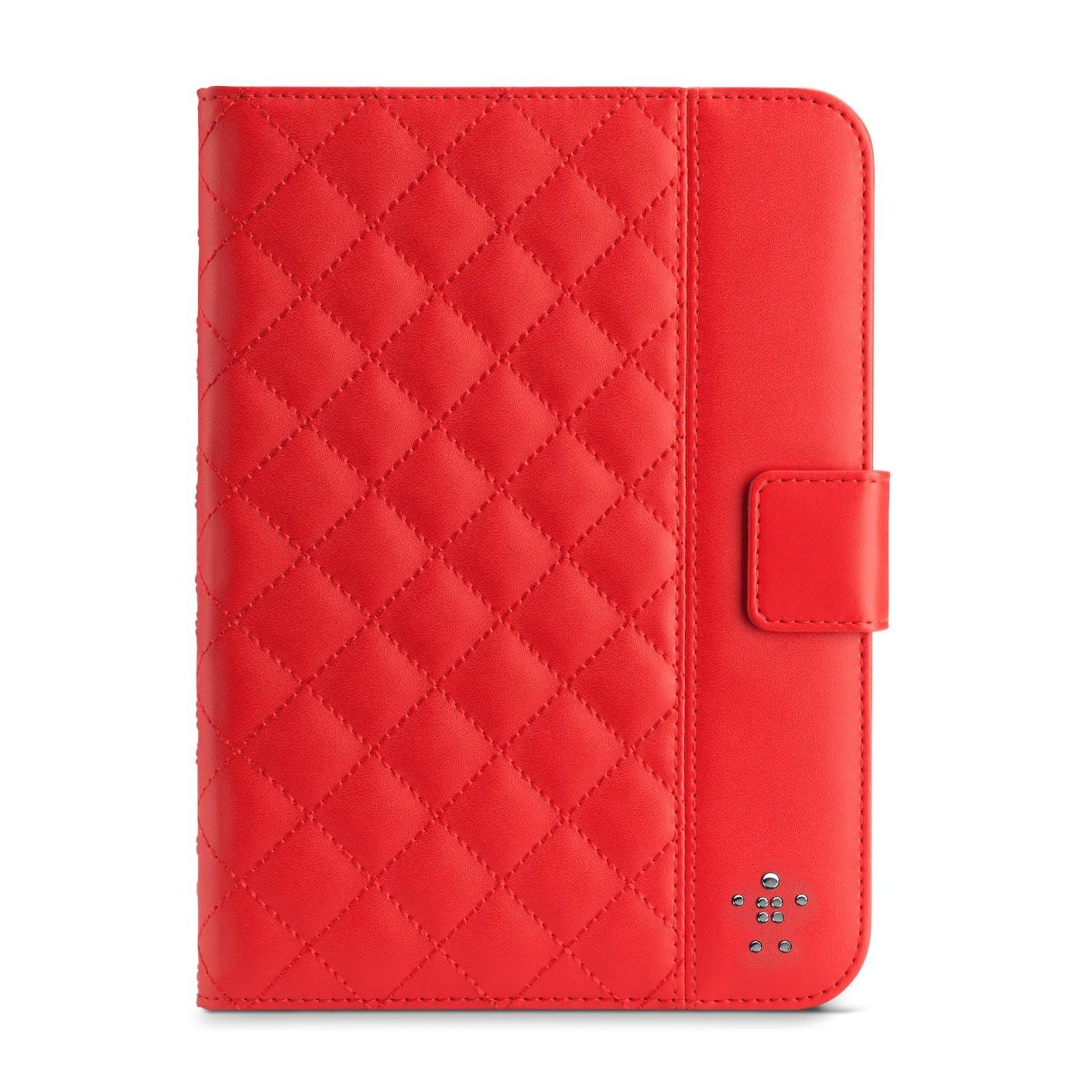Чехол для планшета Belkin iPad Air Quilted Cover /Ruby (F7N073B2C02)