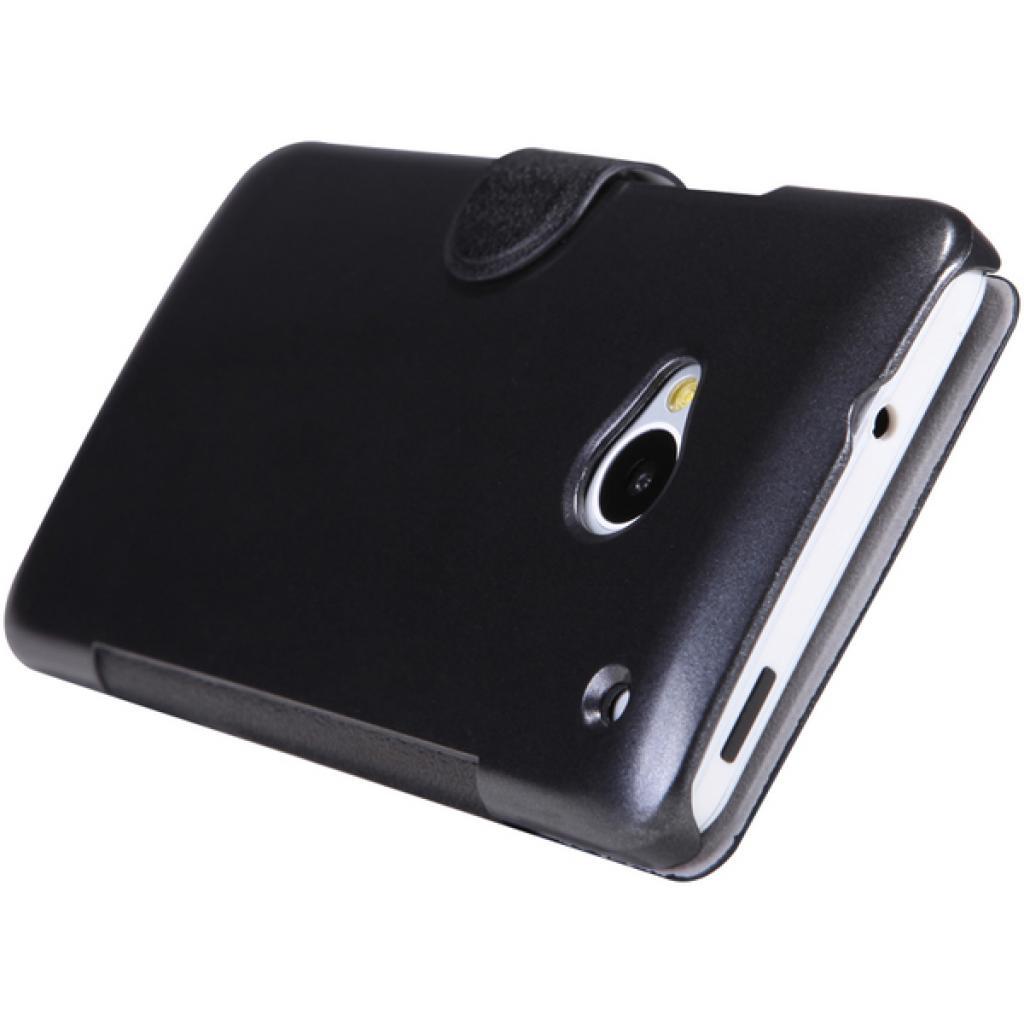 Чехол для моб. телефона NILLKIN для HTC ONE Dual 802w- Fresh/ Leather/Blac (6076836) изображение 2