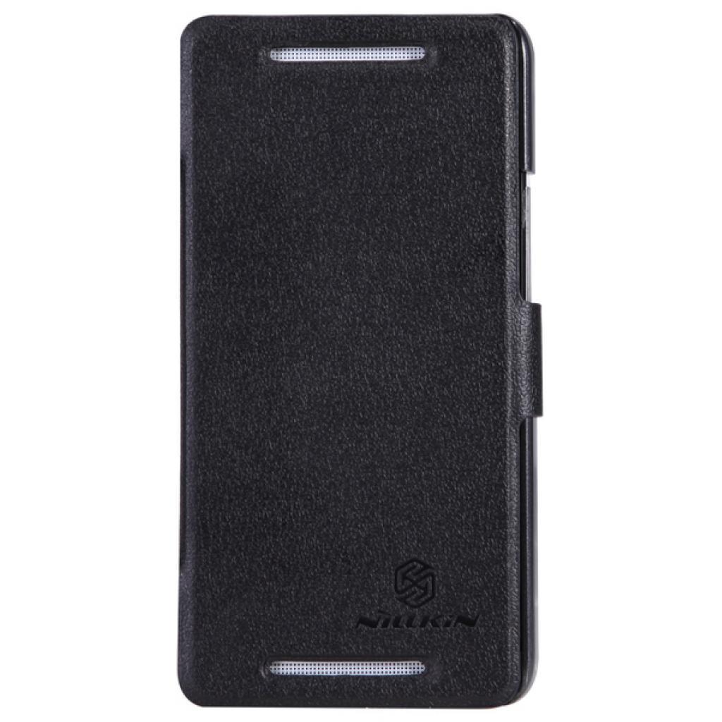 Чехол для моб. телефона NILLKIN для HTC ONE Dual 802w- Fresh/ Leather/Blac (6076836)
