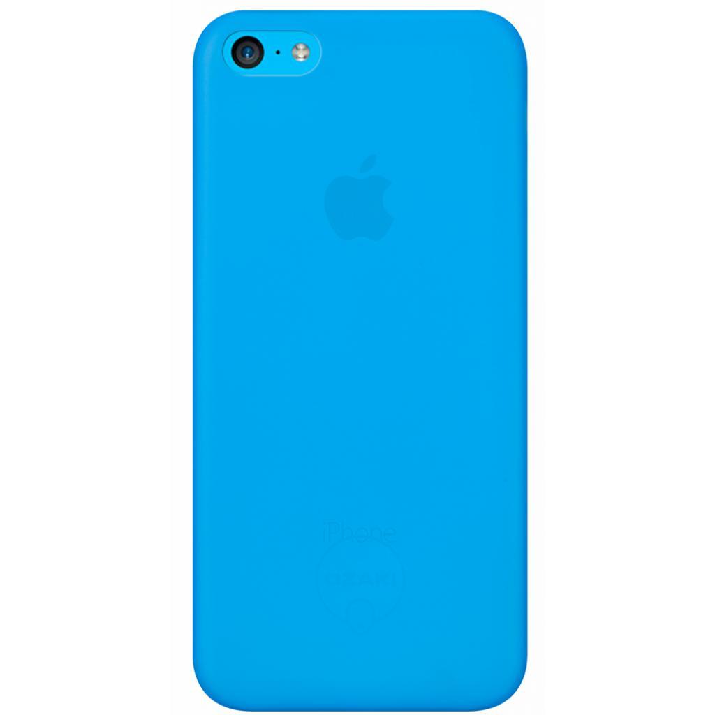 Чехол для моб. телефона OZAKI iPhone 5C O!coat 0.3 Jelly Blue (OC546BU)