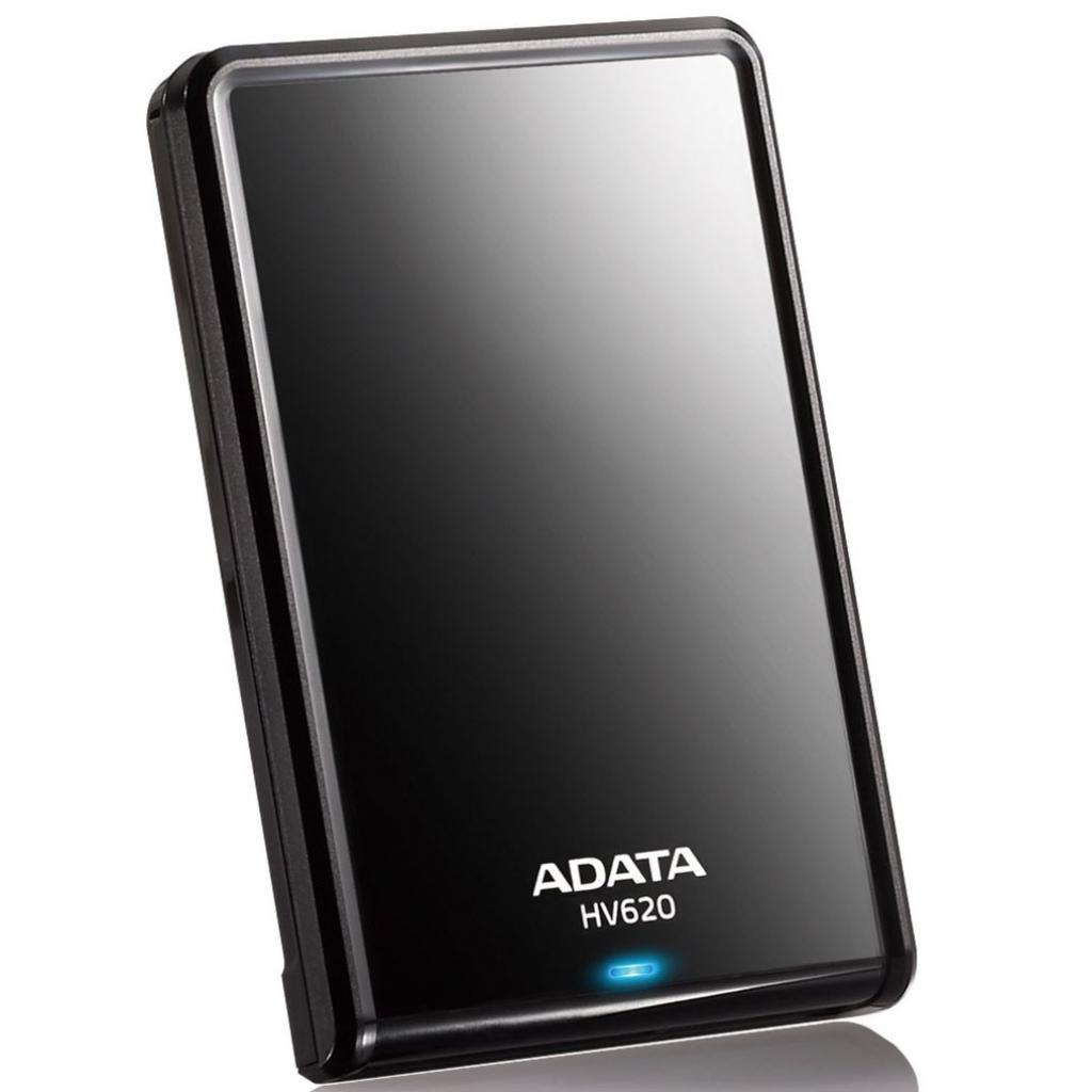 """Внешний жесткий диск 2.5"""" 500GB ADATA (AHV620-500GU3-CBK)"""