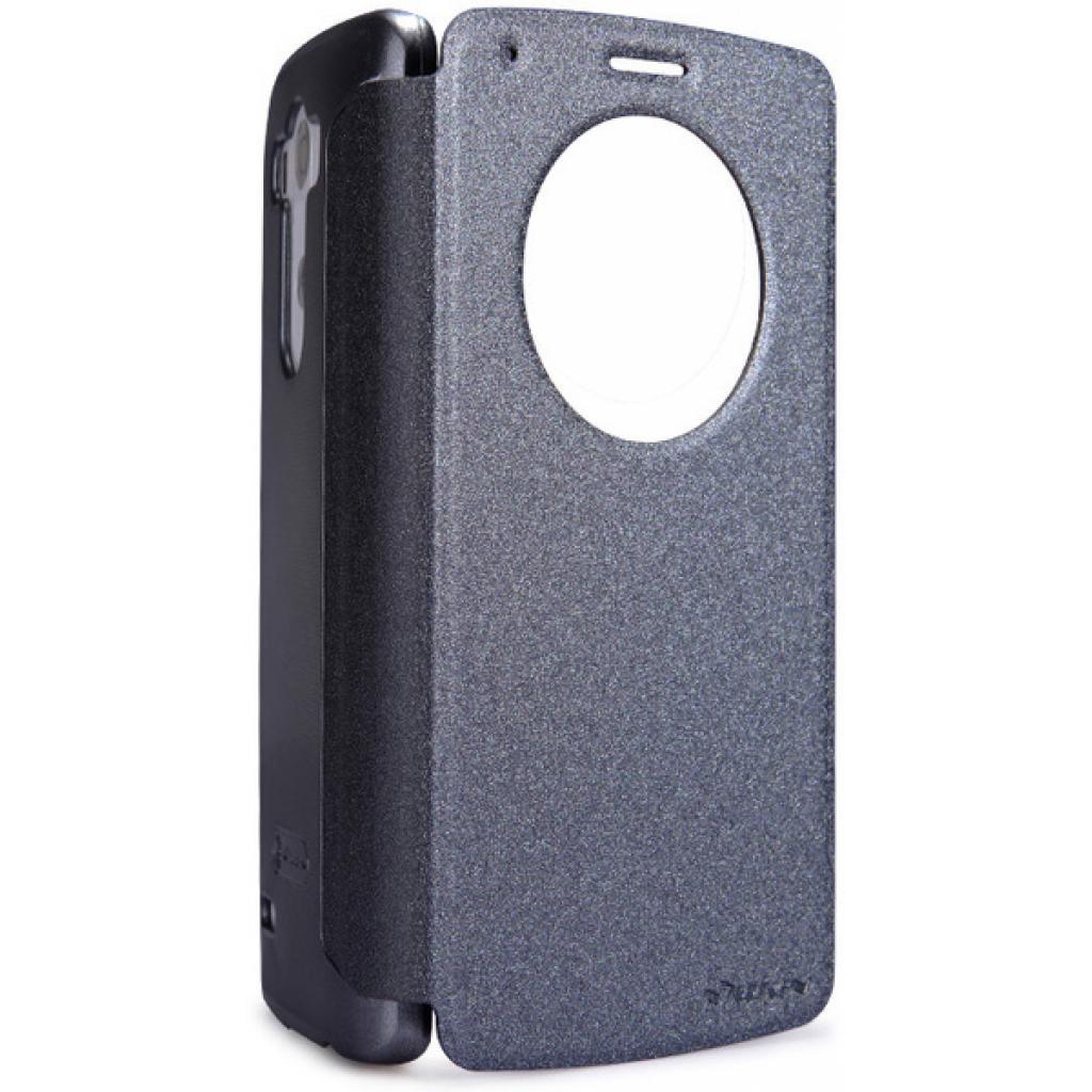 Чехол для моб. телефона NILLKIN для LG Optimus GIII /Spark/ Leather/Black (6154940)