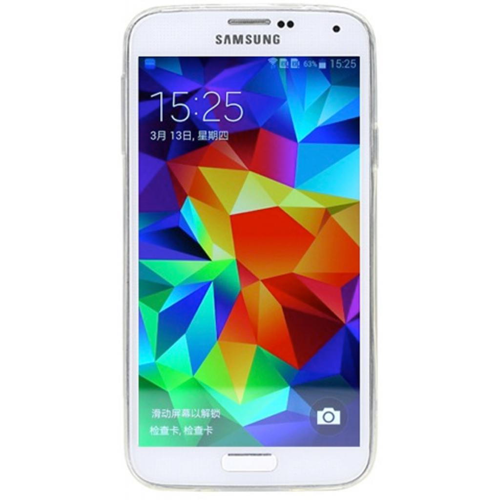 Чехол для моб. телефона Rock Samsung Galaxy S5 ultrathin TPU Slim Jacket transparent (S5-63543) изображение 2