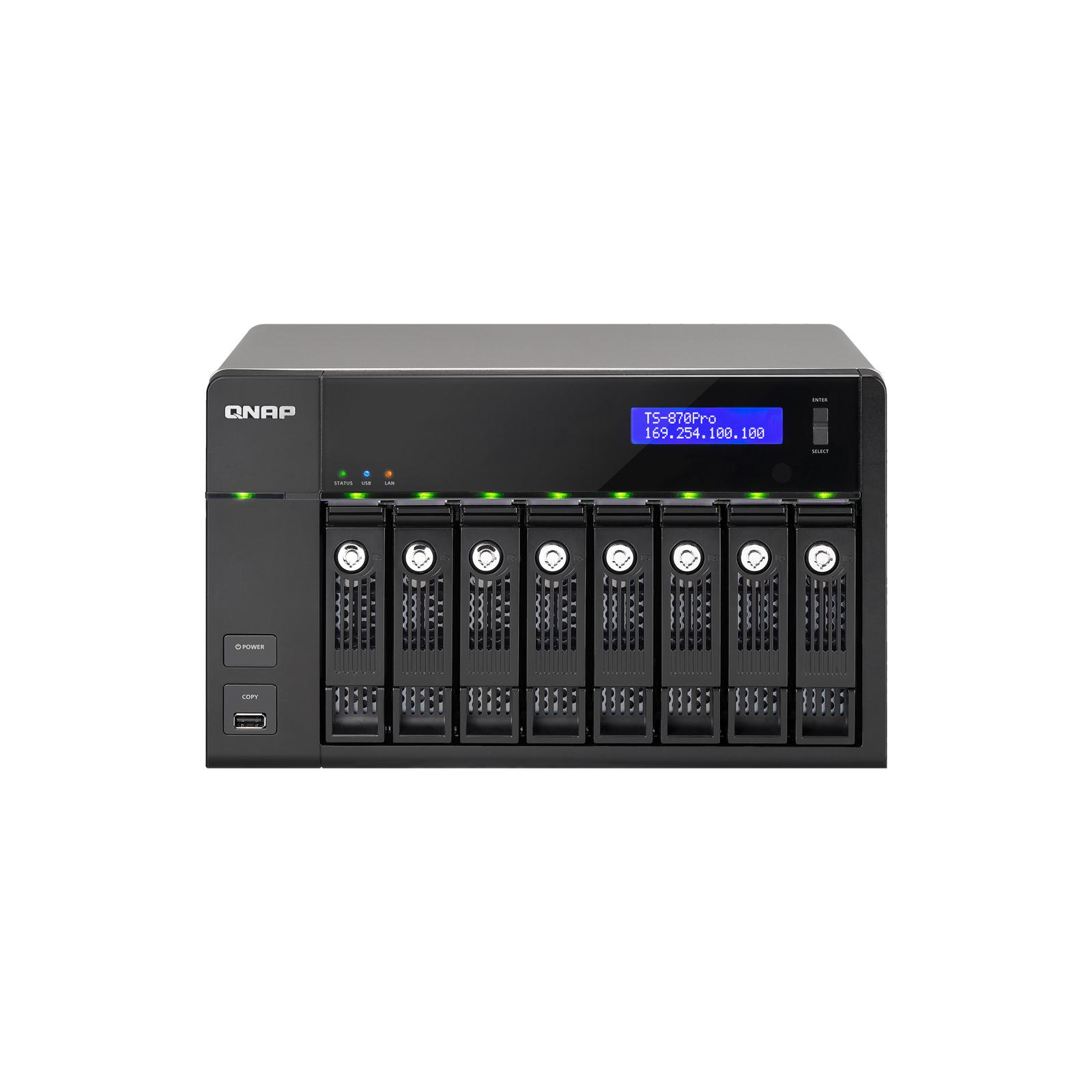 NAS QNap TS-870Pro изображение 2