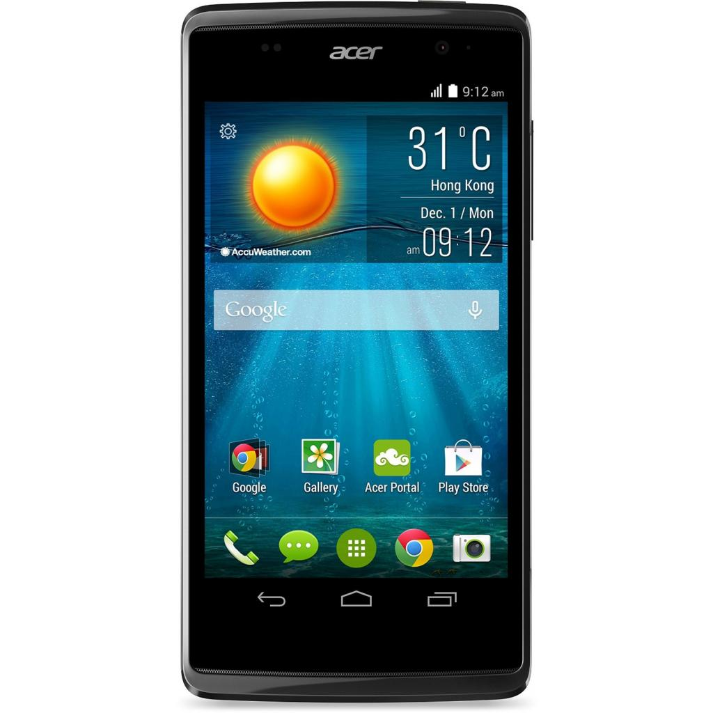 Мобильный телефон Acer Liquid Z500 DualSim Black (HM.HHJEU.001)