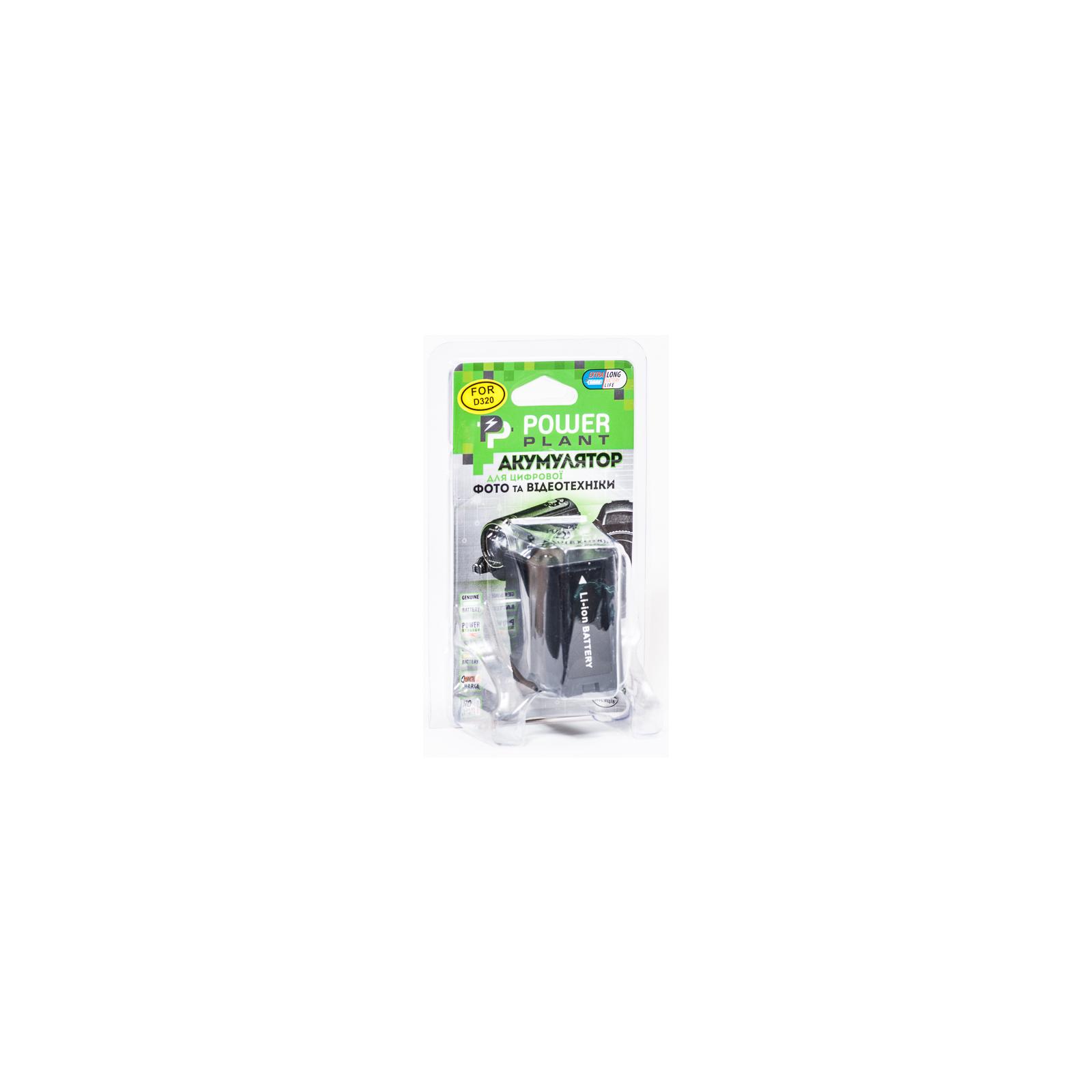 Аккумулятор к фото/видео PowerPlant Panasonic D320, D28S (DV00DV