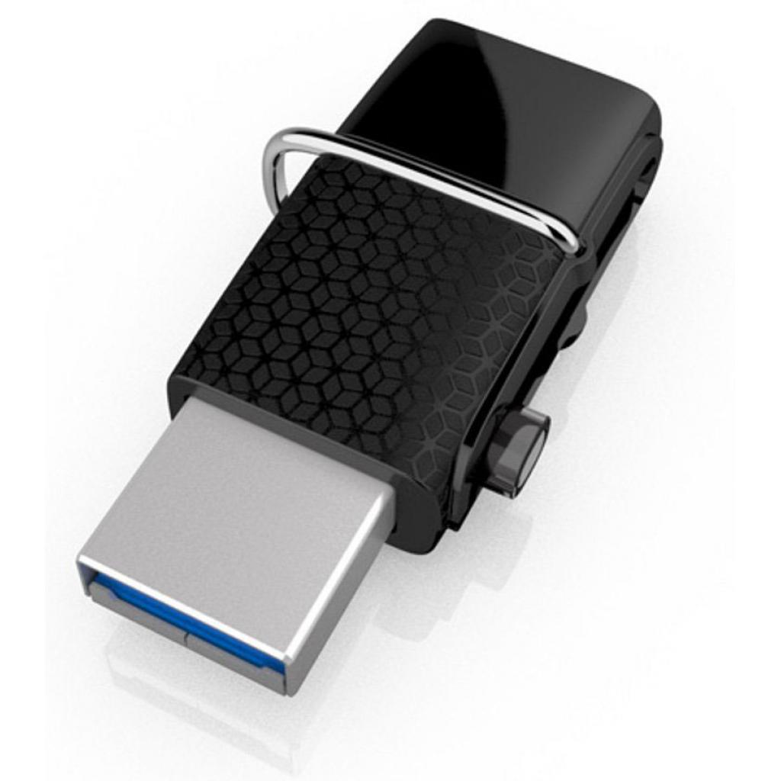 USB флеш накопитель SanDisk 32GB Ultra Dual Drive m3.0 White-Gold USB 3.0/OTG (SDDD3-032G-G46GW) изображение 4