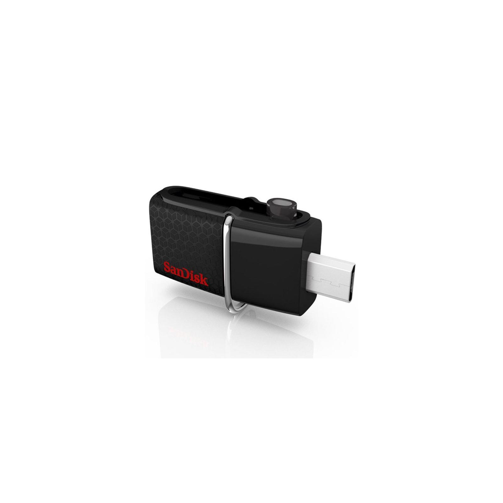 USB флеш накопитель SanDisk 32GB Ultra Dual Drive m3.0 White-Gold USB 3.0/OTG (SDDD3-032G-G46GW) изображение 6
