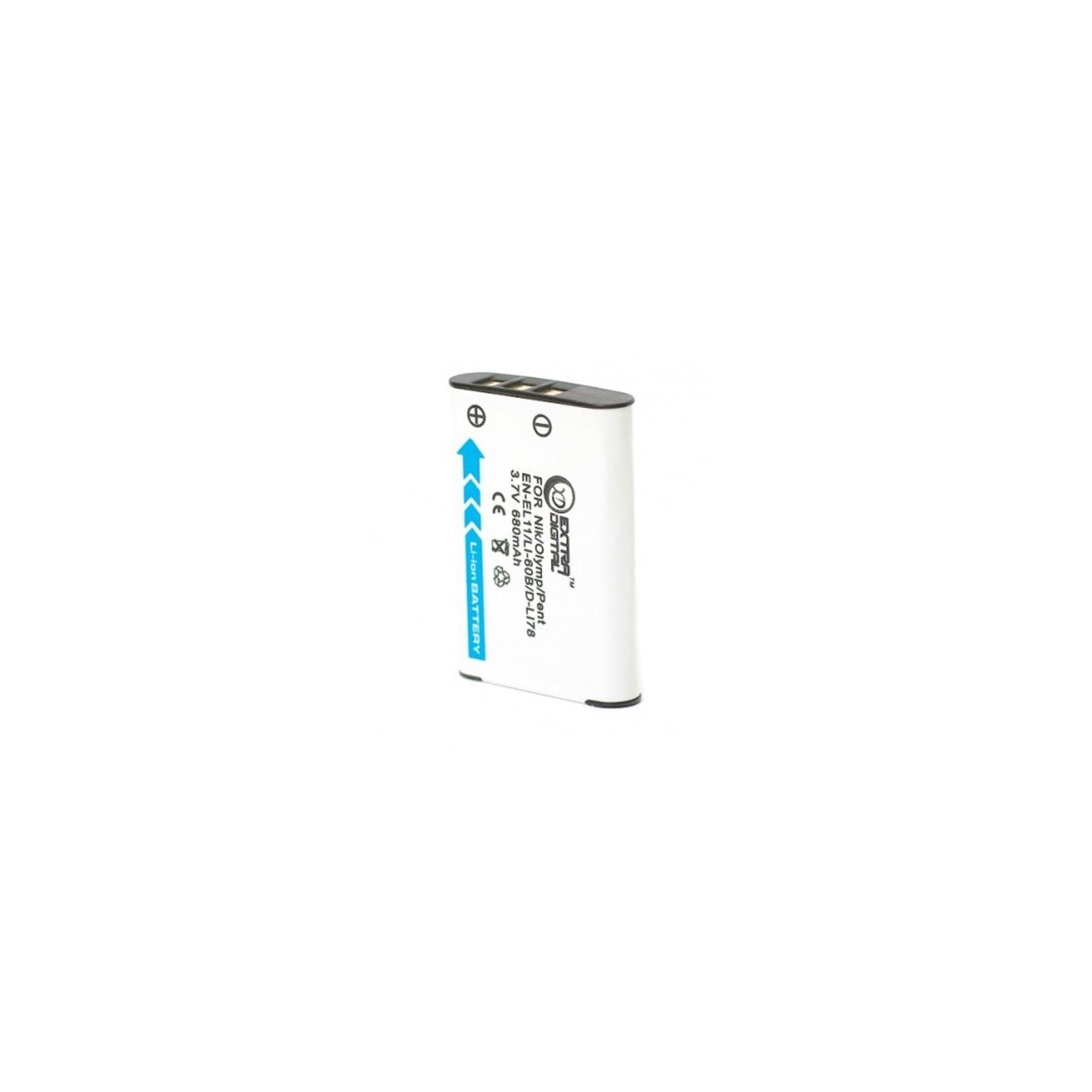 Аккумулятор к фото/видео EXTRADIGITAL Olympus LI-60B, EN-EL11, D-LI78, DB-80, DB-L70 (DV00DV1332) изображение 2